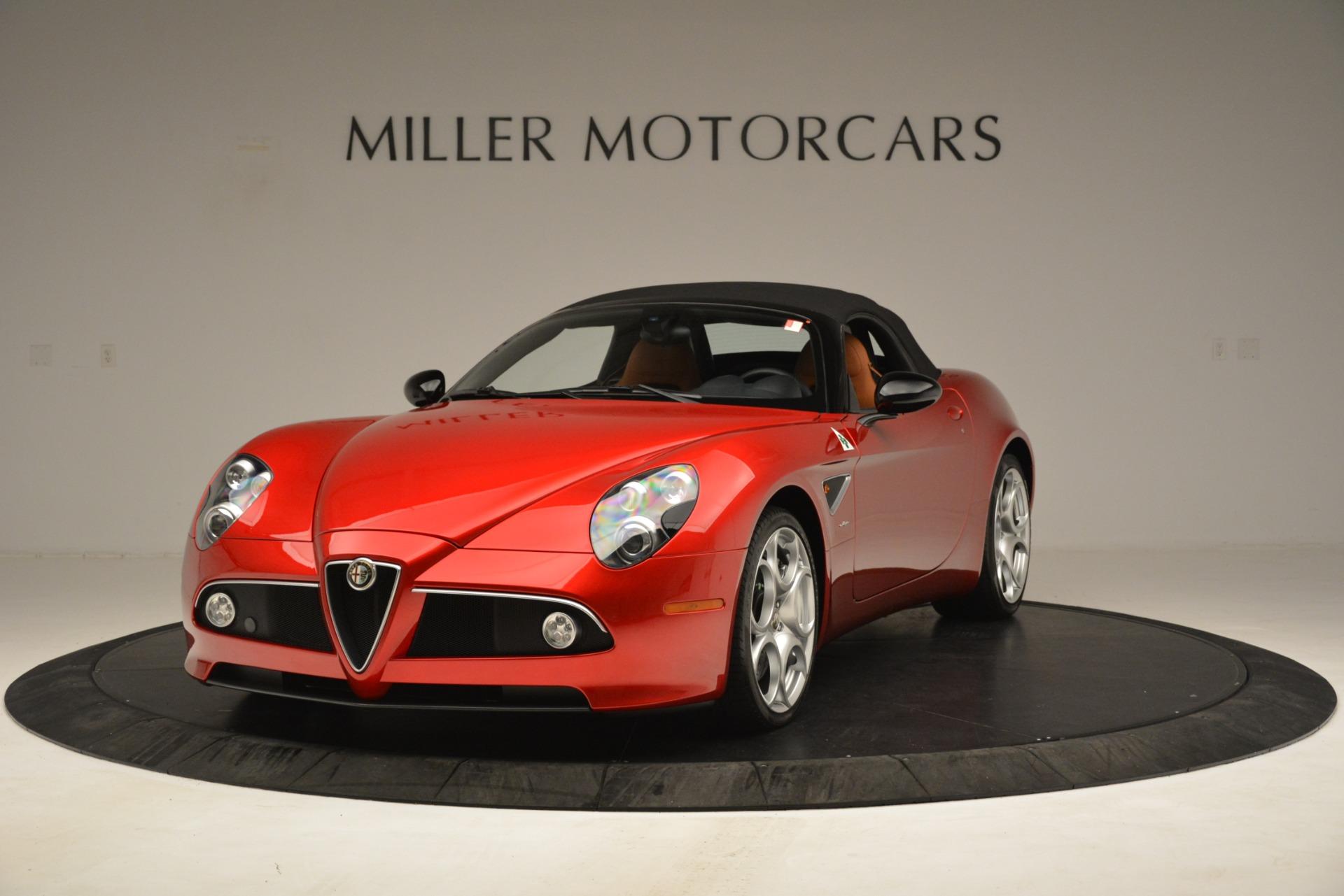 Used 2009 Alfa Romeo 8c Spider  For Sale In Westport, CT 3302_p13