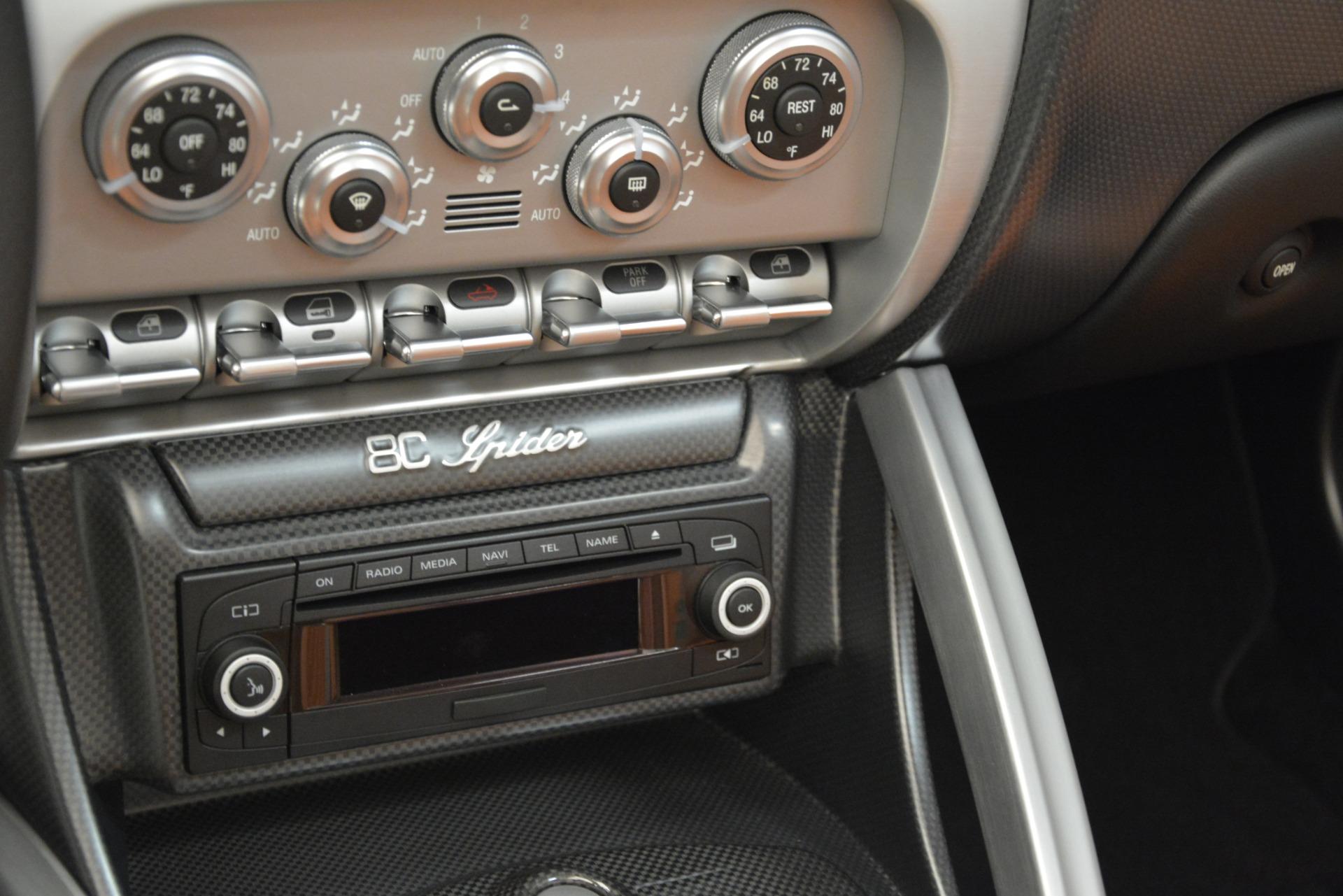 Used 2009 Alfa Romeo 8c Spider  For Sale In Westport, CT 3302_p26
