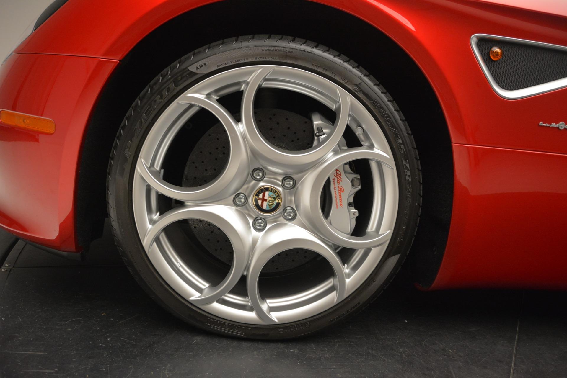 Used 2009 Alfa Romeo 8c Spider  For Sale In Westport, CT 3302_p30