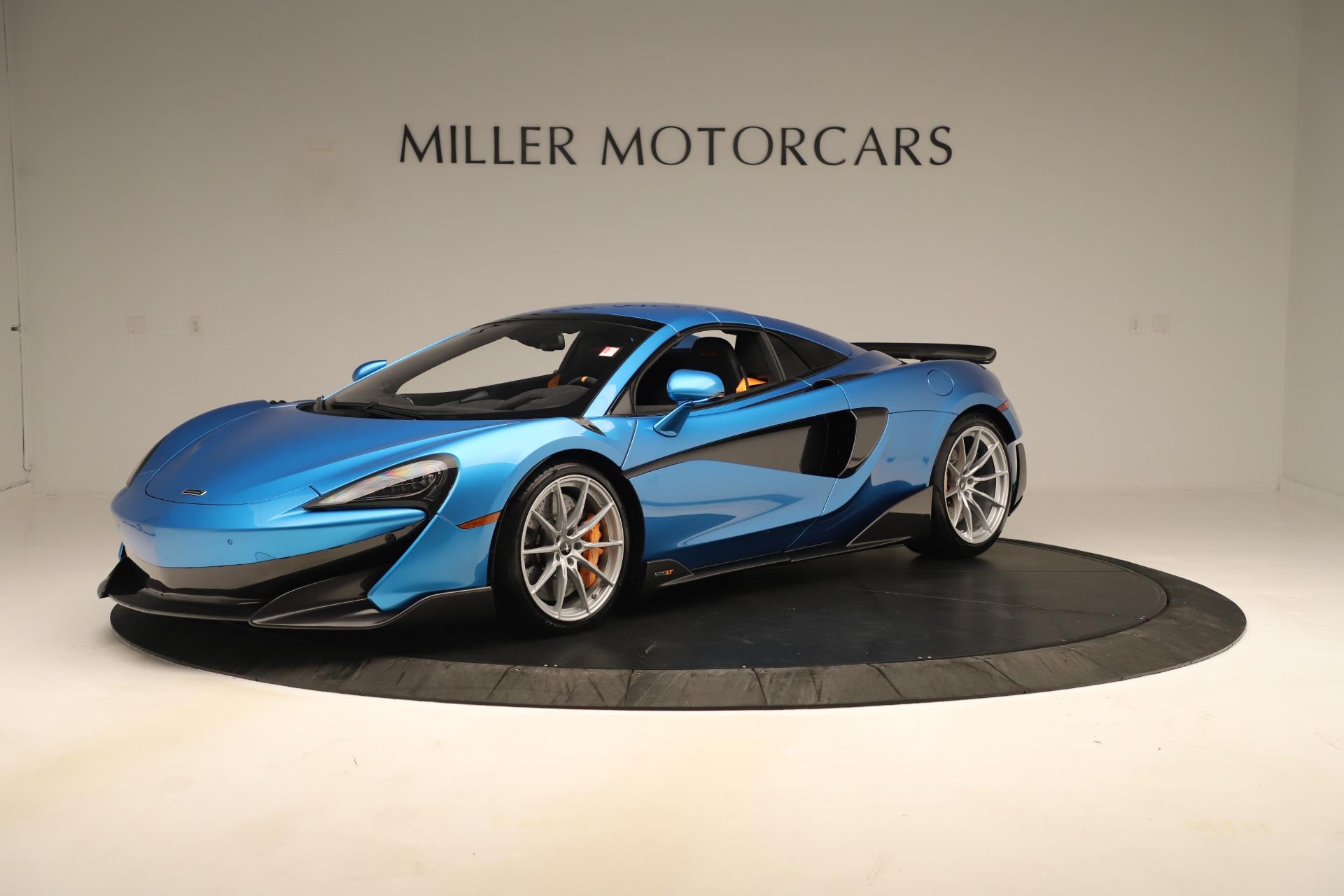 New 2020 McLaren 600LT Spider For Sale In Westport, CT 3311_p10