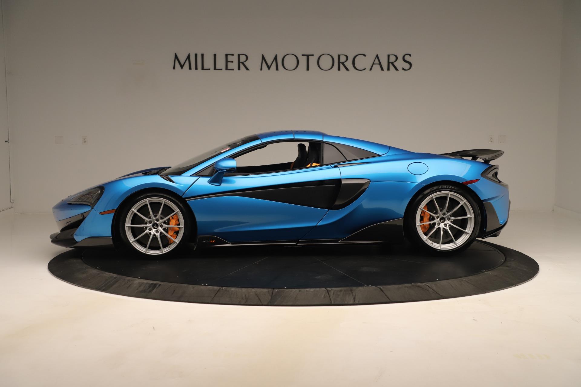New 2020 McLaren 600LT Spider For Sale In Westport, CT 3311_p11