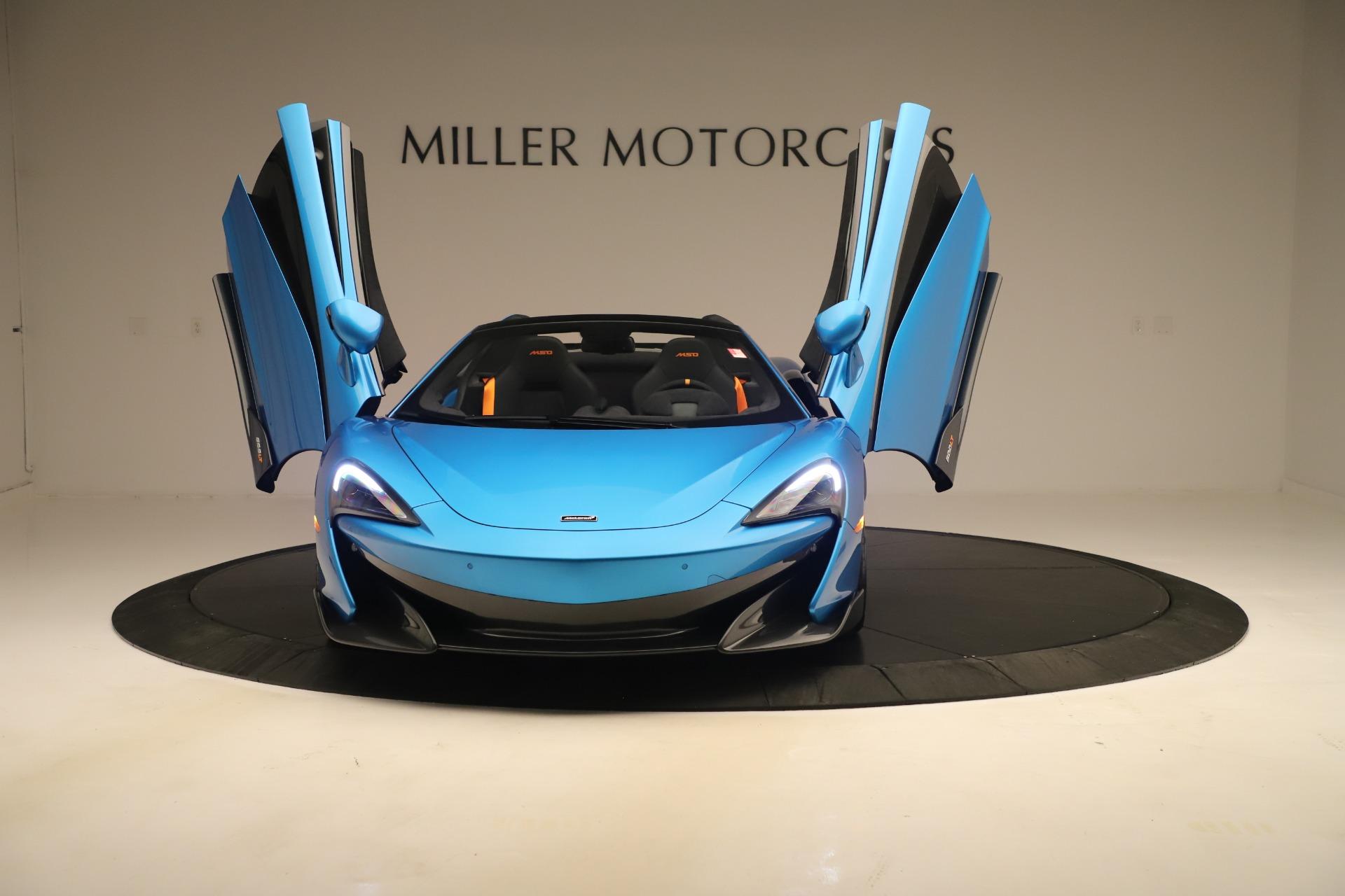 New 2020 McLaren 600LT Spider For Sale In Westport, CT 3311_p17