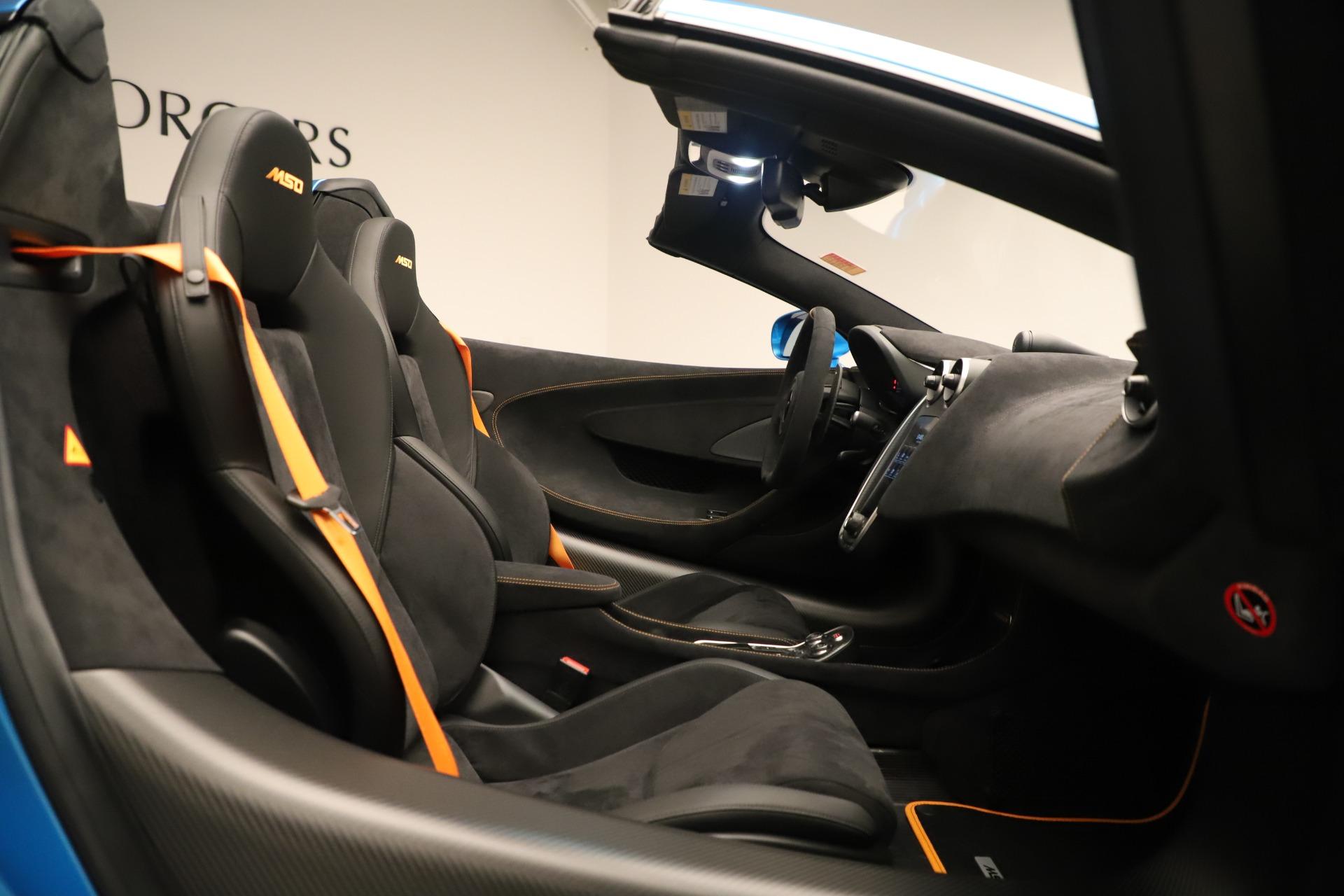 New 2020 McLaren 600LT Spider For Sale In Westport, CT 3311_p25