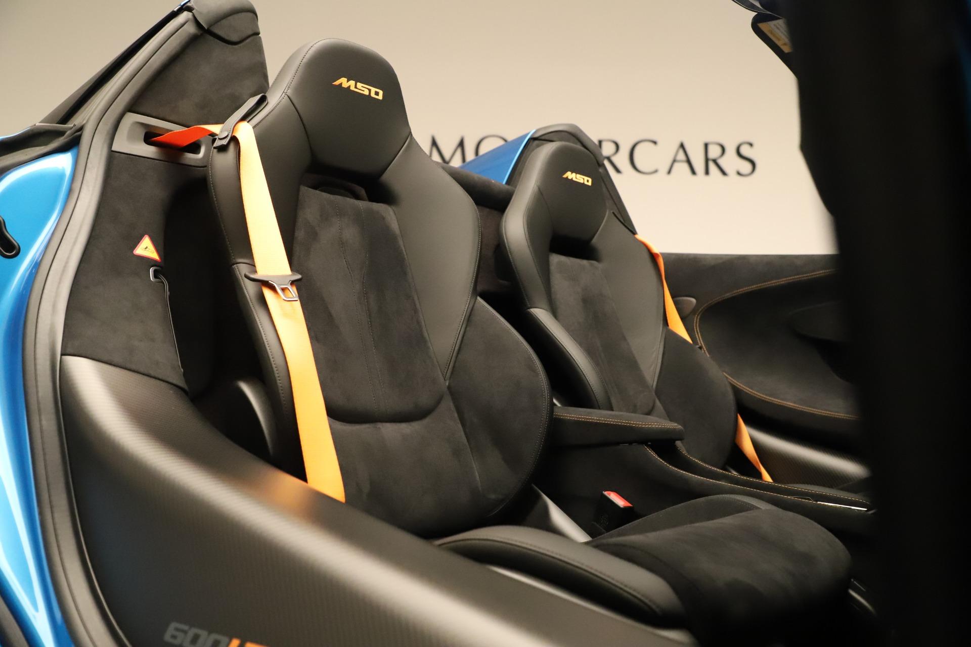 New 2020 McLaren 600LT Spider For Sale In Westport, CT 3311_p26