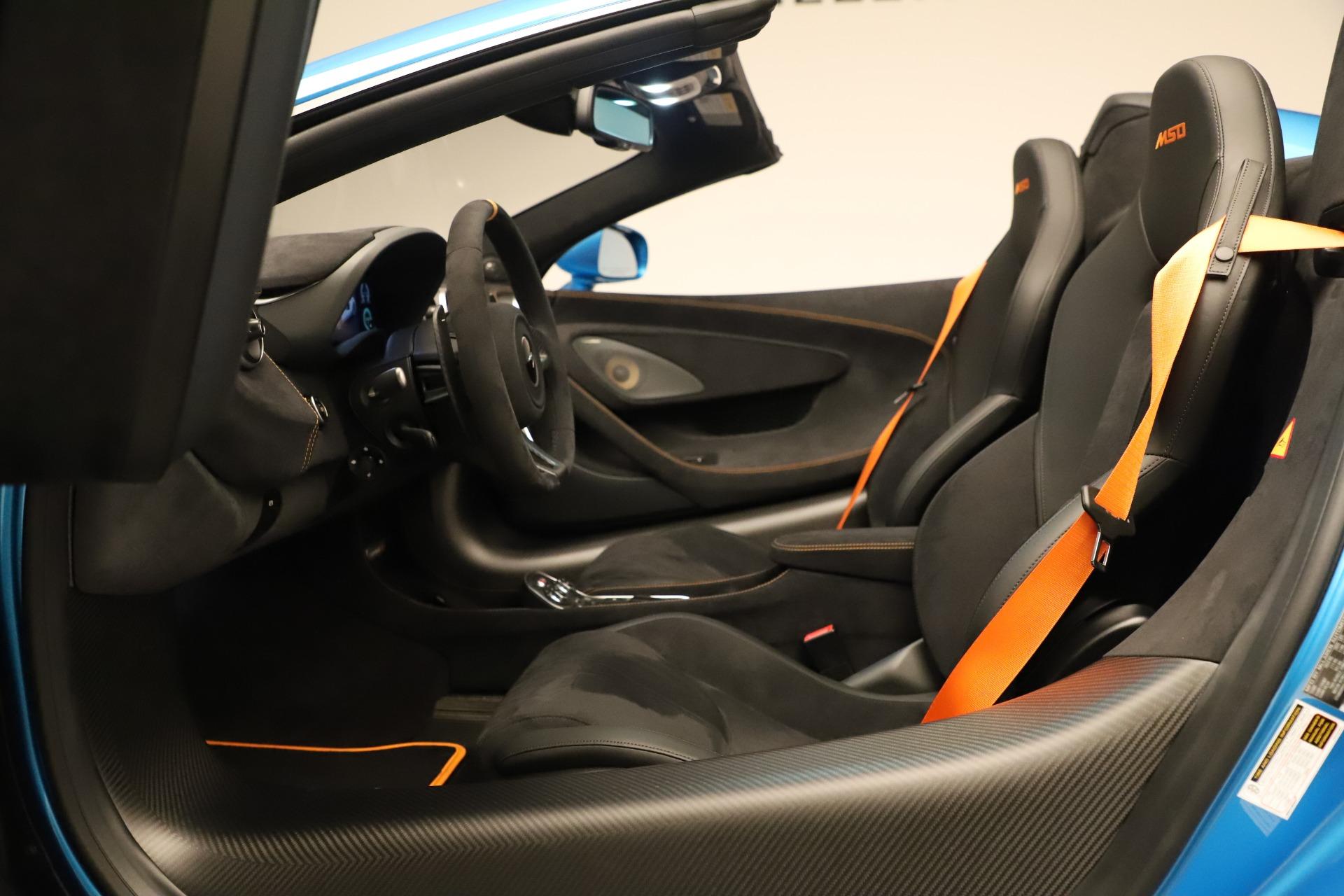 New 2020 McLaren 600LT Spider For Sale In Westport, CT 3311_p28