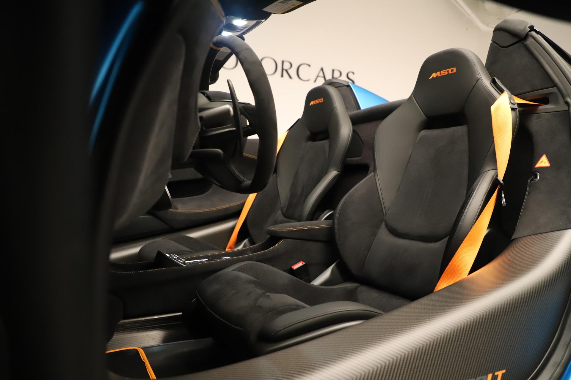 New 2020 McLaren 600LT Spider For Sale In Westport, CT 3311_p29