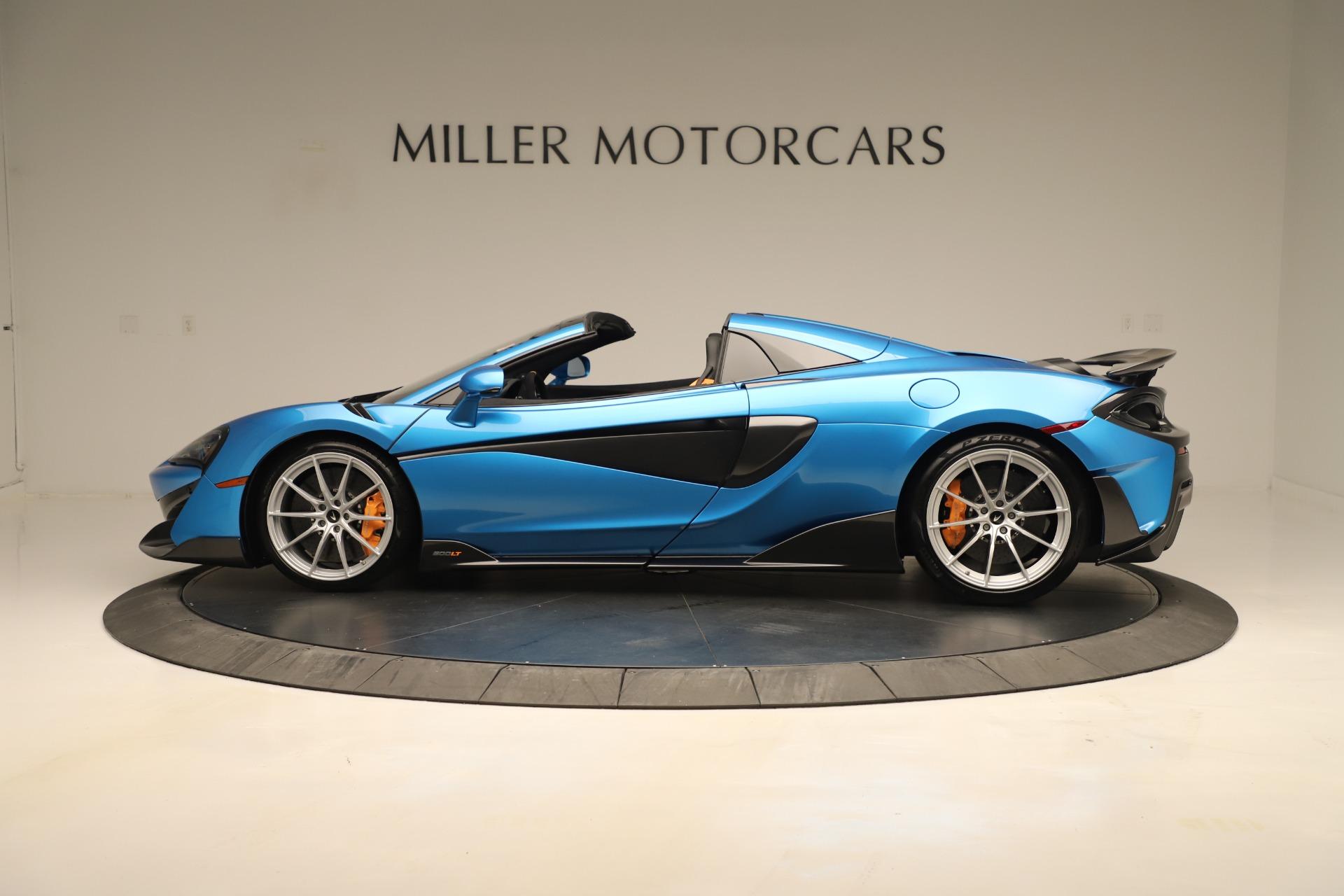 New 2020 McLaren 600LT Spider For Sale In Westport, CT 3311_p2
