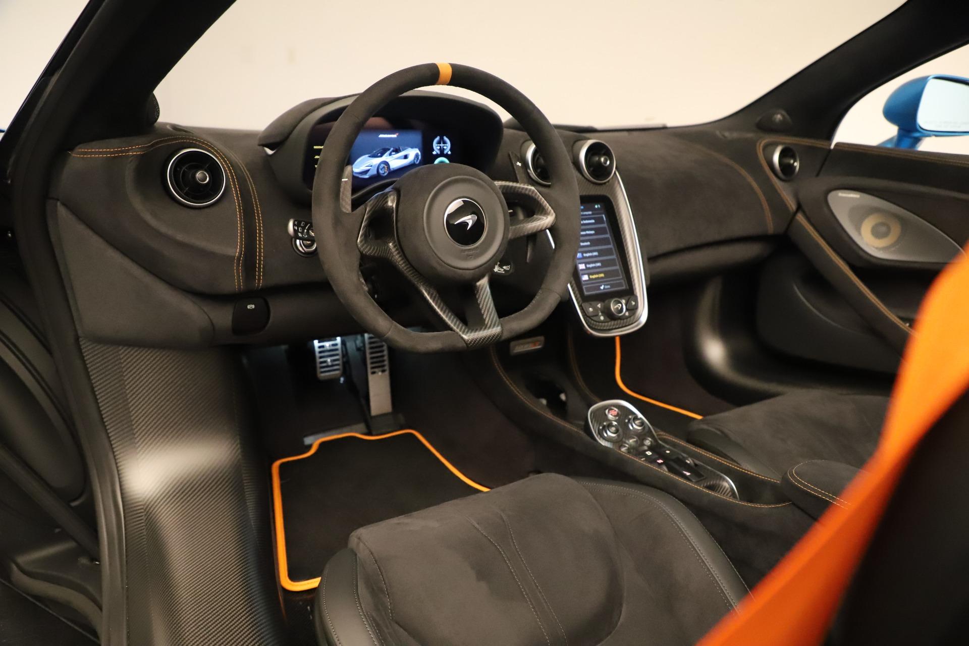 New 2020 McLaren 600LT Spider For Sale In Westport, CT 3311_p30