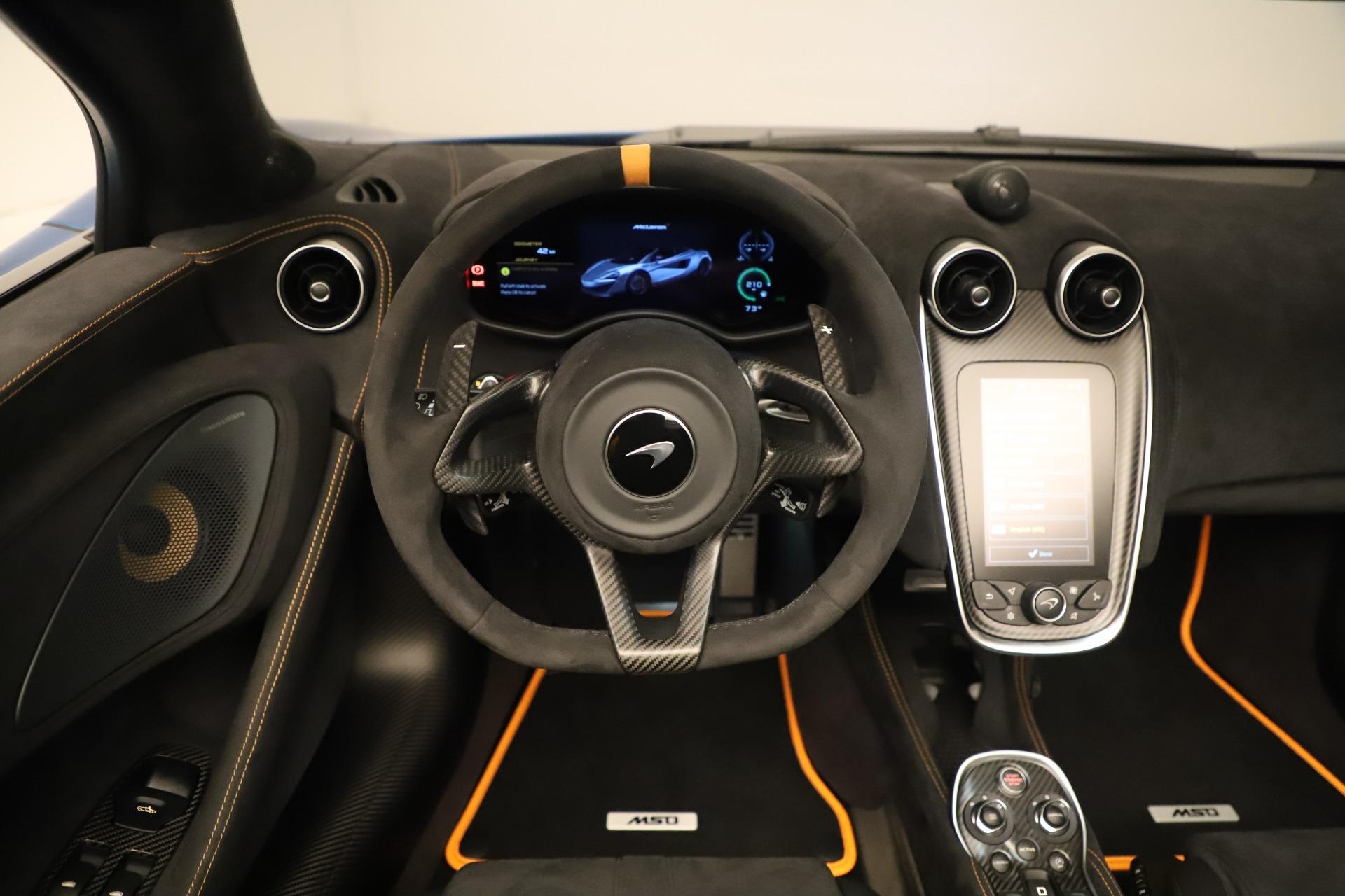 New 2020 McLaren 600LT Spider For Sale In Westport, CT 3311_p31