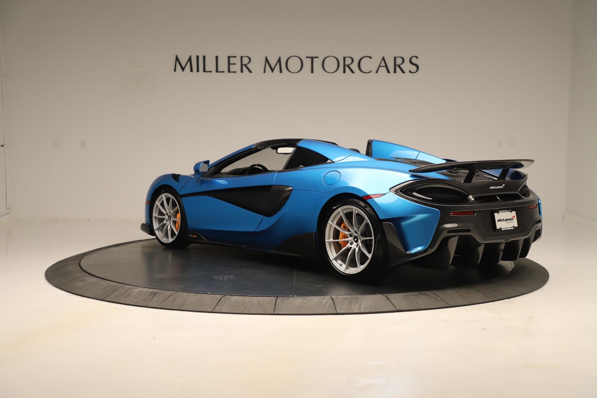 New 2020 McLaren 600LT Spider For Sale In Westport, CT 3311_p3