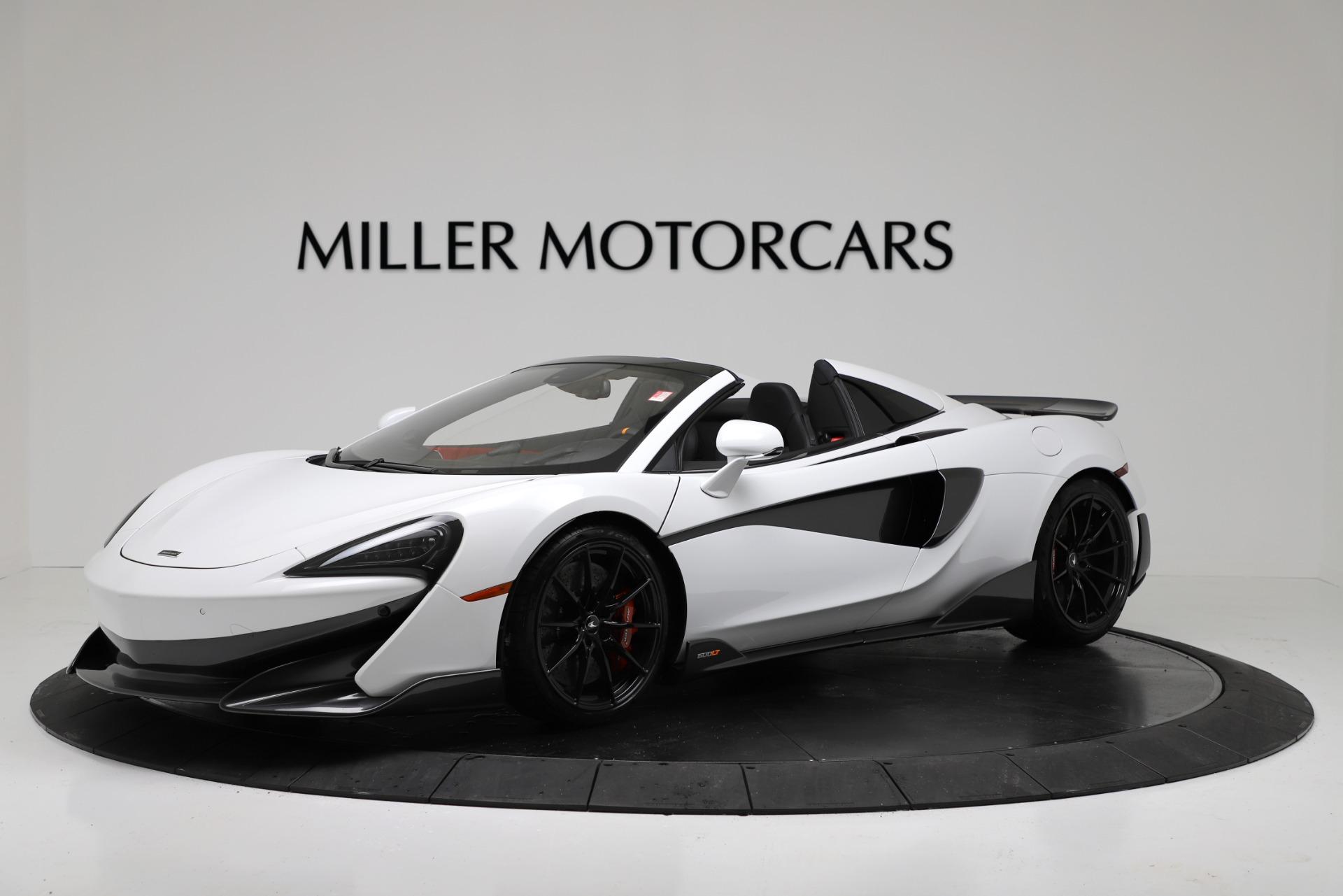 New 2020 McLaren 600LT Spider Convertible For Sale In Westport, CT 3314_main