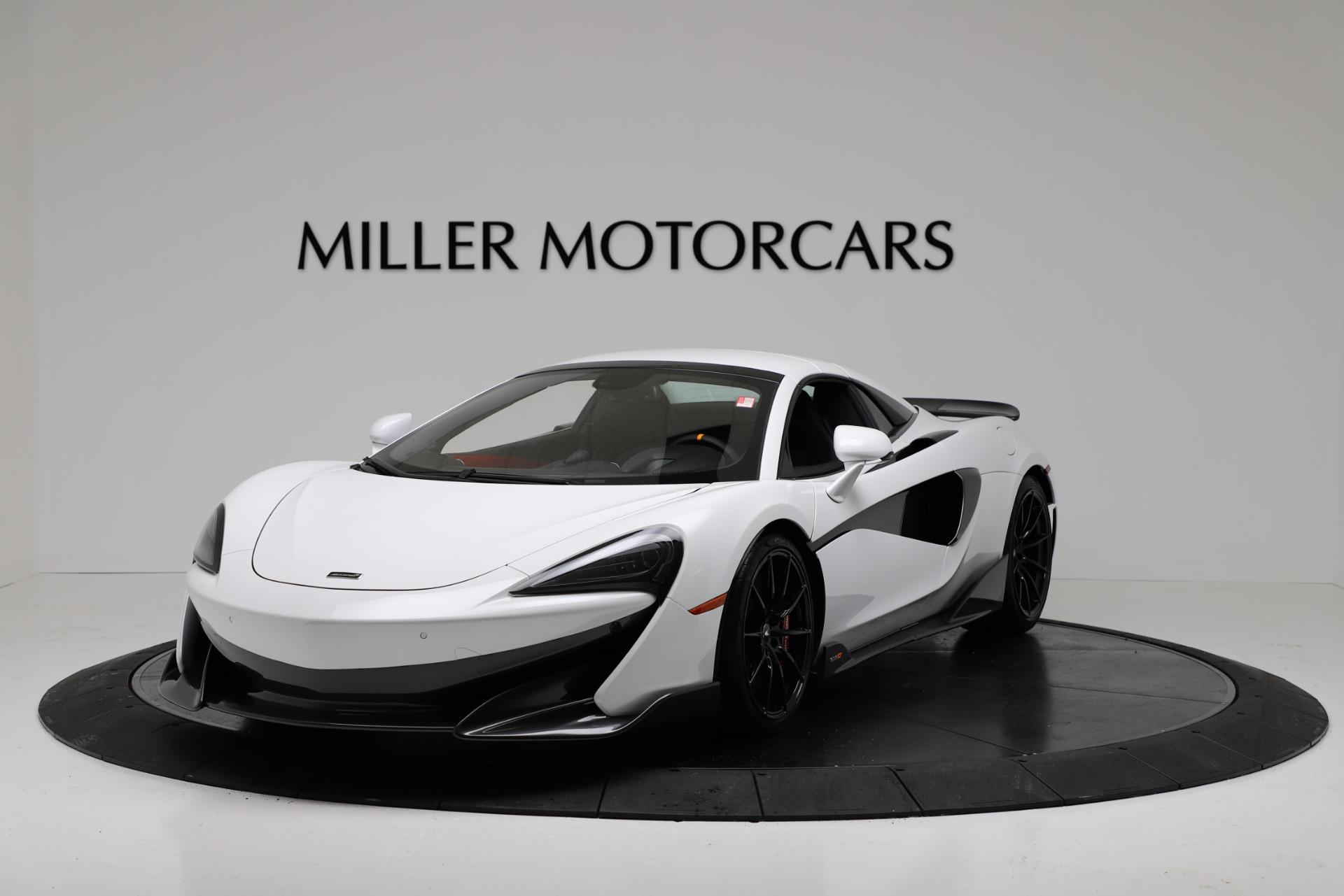New 2020 McLaren 600LT Spider Convertible For Sale In Westport, CT 3314_p13