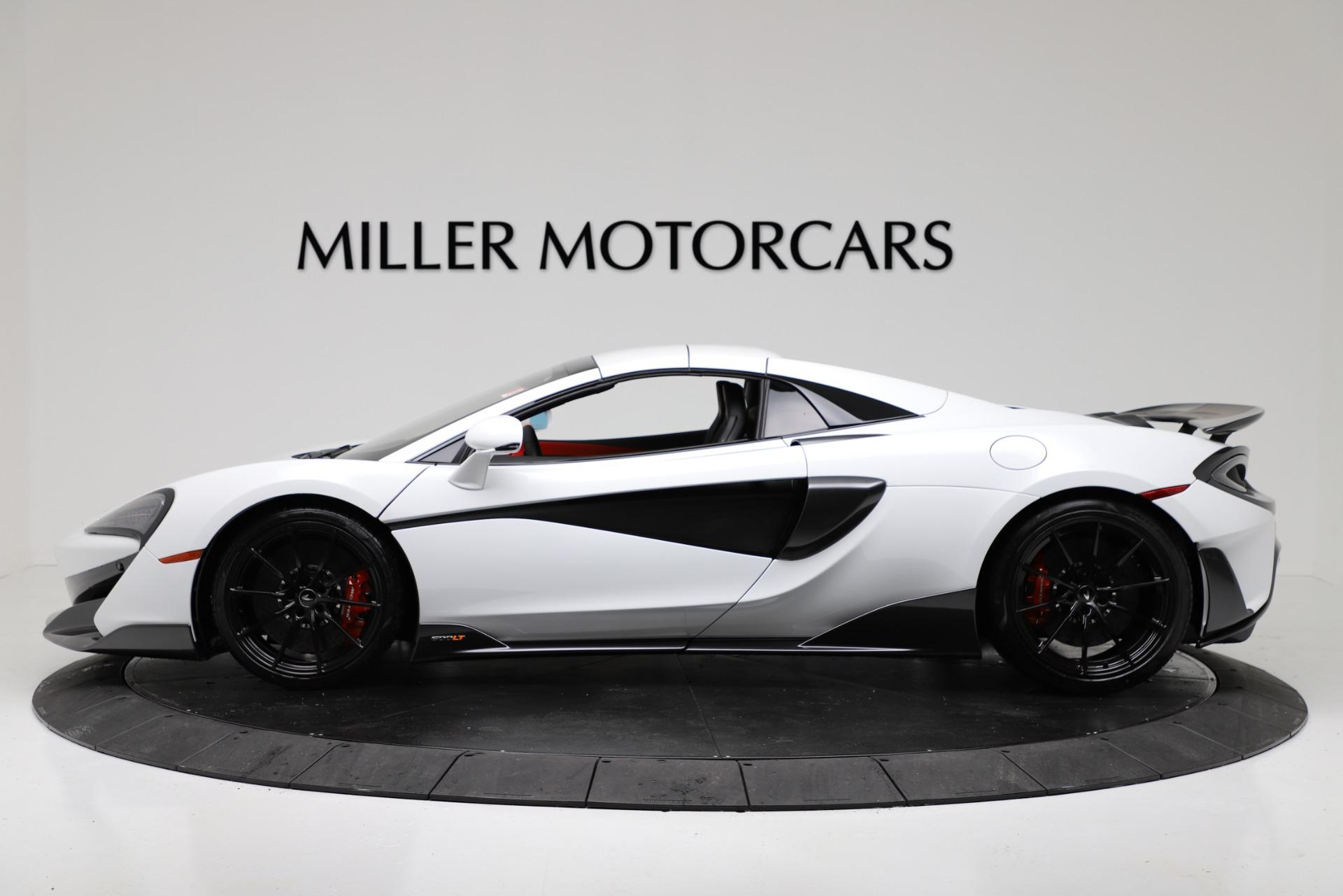 New 2020 McLaren 600LT Spider Convertible For Sale In Westport, CT 3314_p14