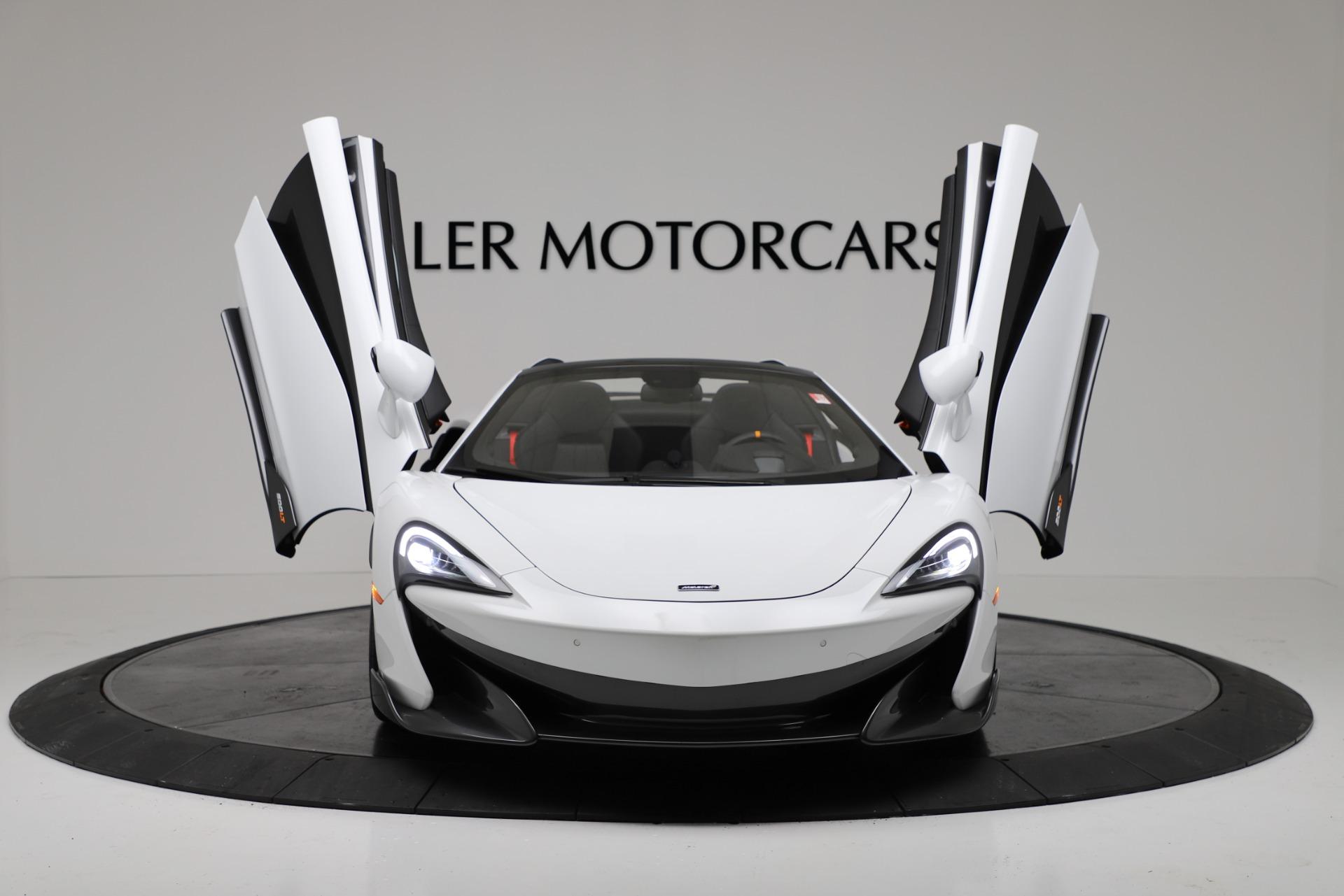 New 2020 McLaren 600LT Spider Convertible For Sale In Westport, CT 3314_p19