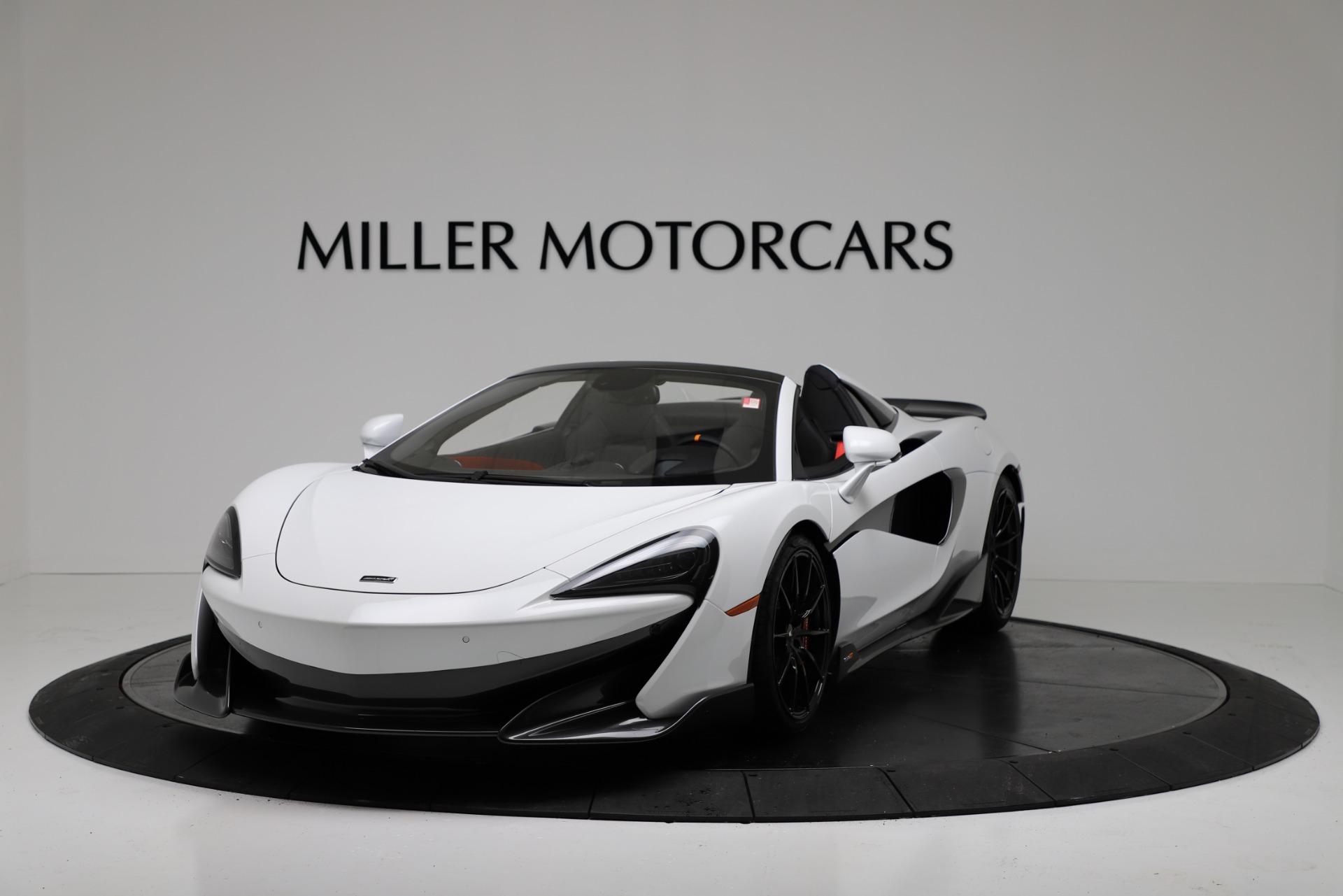 New 2020 McLaren 600LT Spider Convertible For Sale In Westport, CT 3314_p2