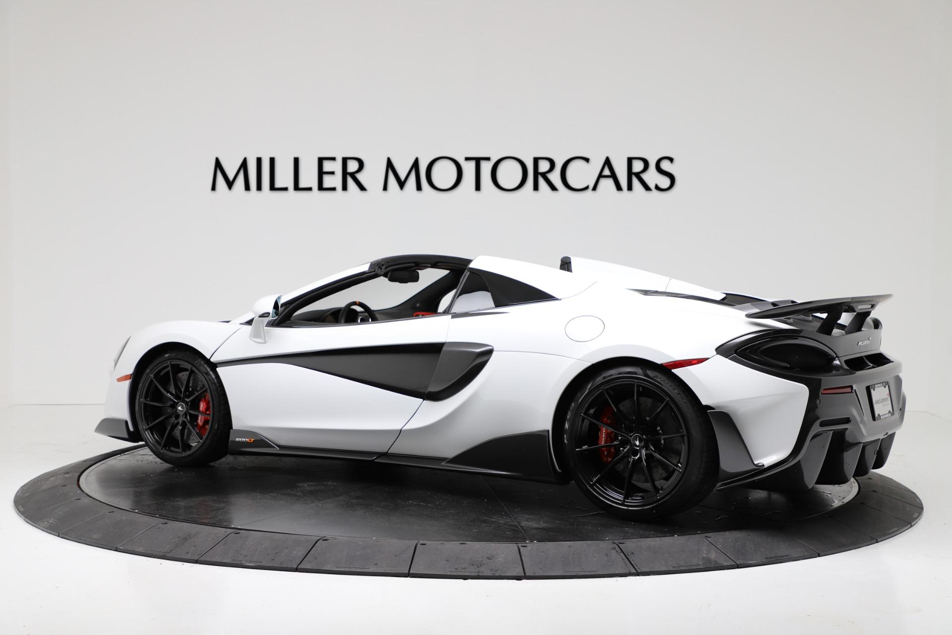 New 2020 McLaren 600LT Spider Convertible For Sale In Westport, CT 3314_p4