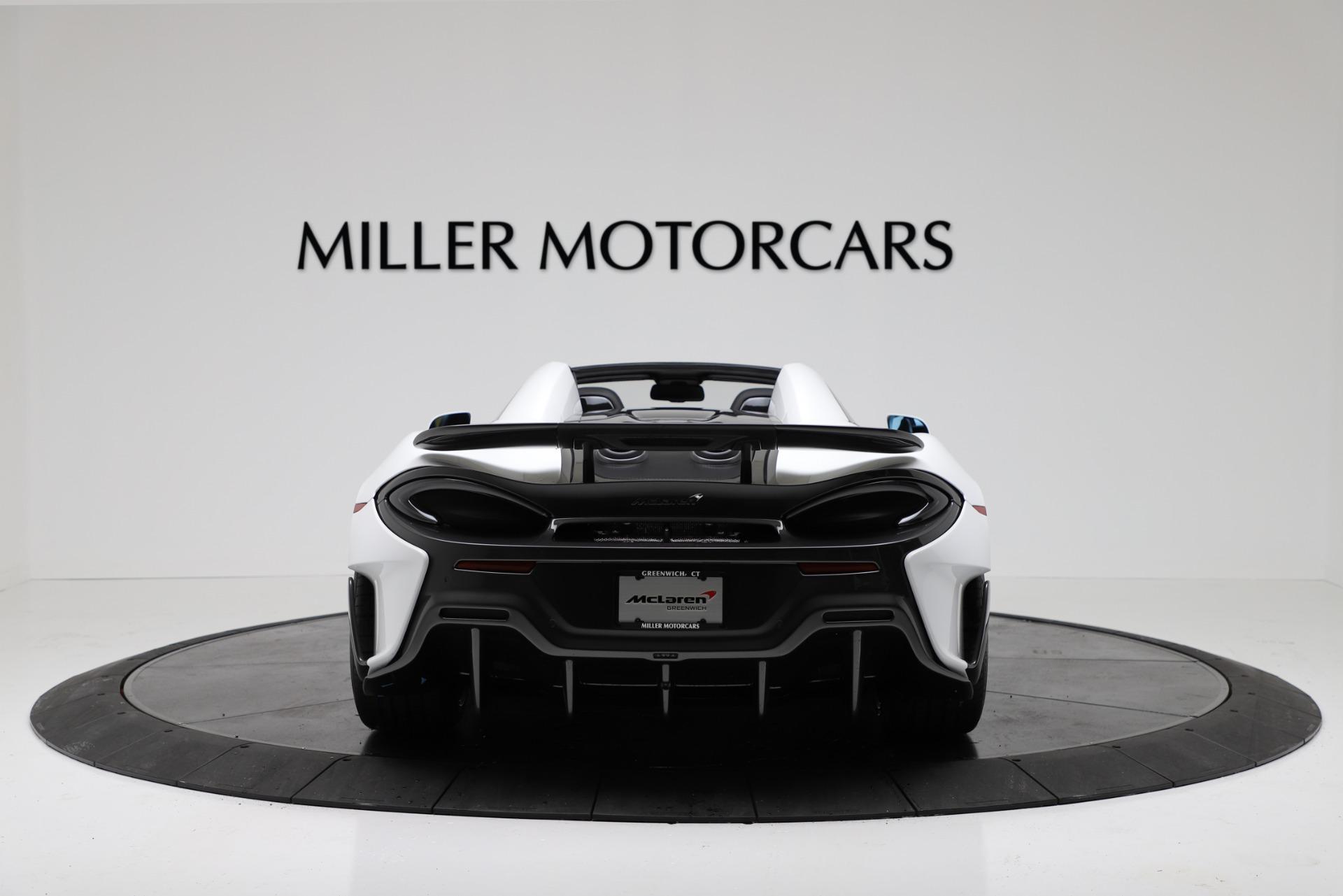 New 2020 McLaren 600LT Spider Convertible For Sale In Westport, CT 3314_p6