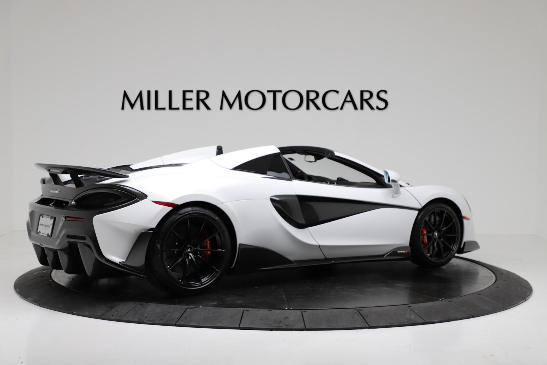 New 2020 McLaren 600LT Spider Convertible For Sale In Westport, CT 3314_p8