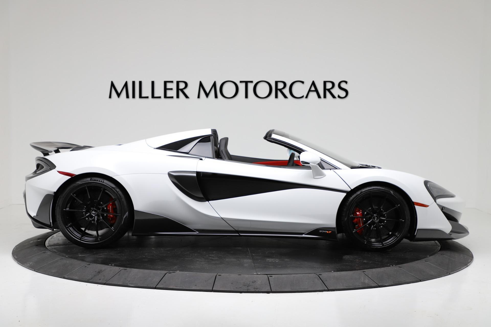 New 2020 McLaren 600LT Spider Convertible For Sale In Westport, CT 3314_p9