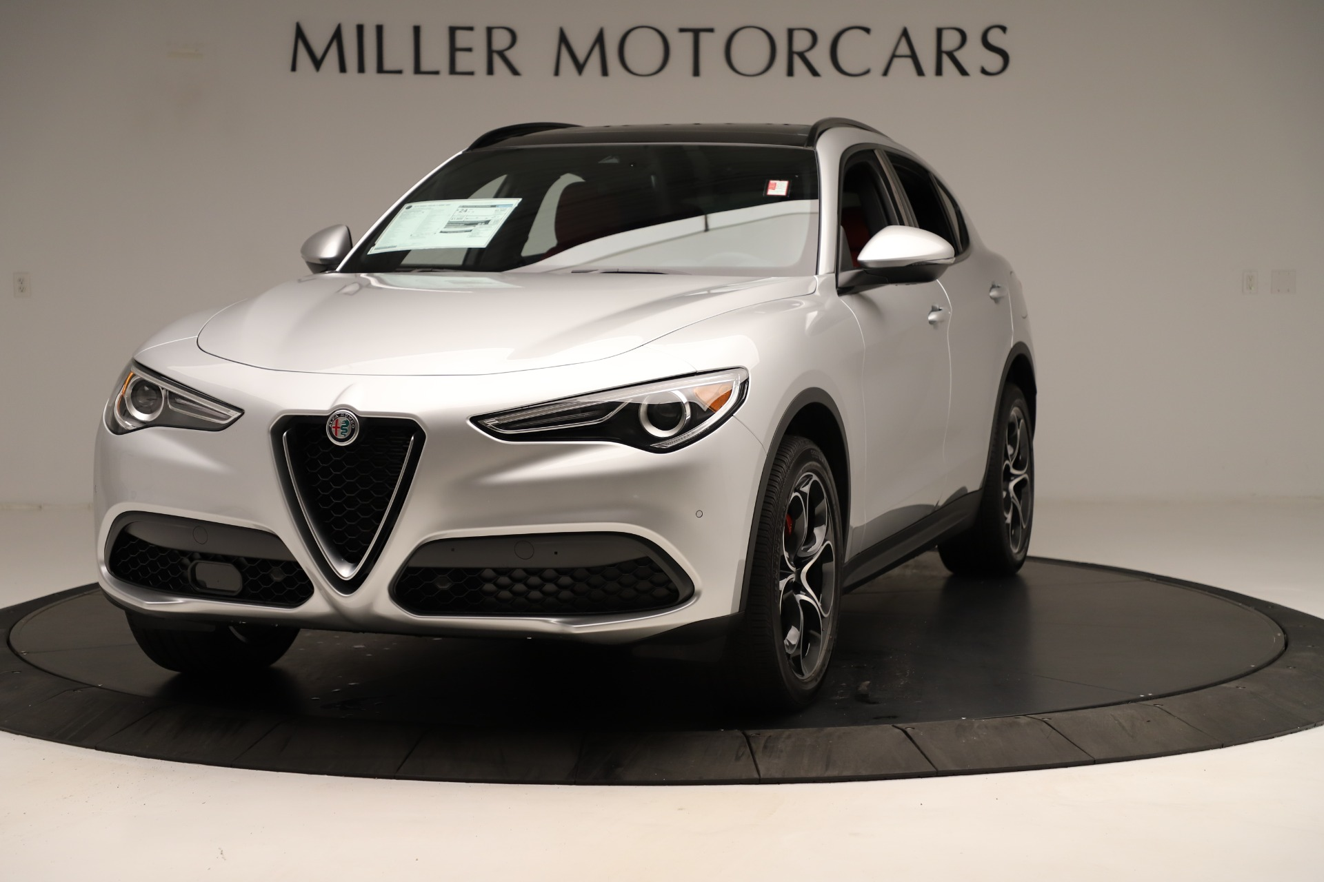 New 2019 Alfa Romeo Stelvio Ti Sport Q4 For Sale In Westport, CT 3323_main
