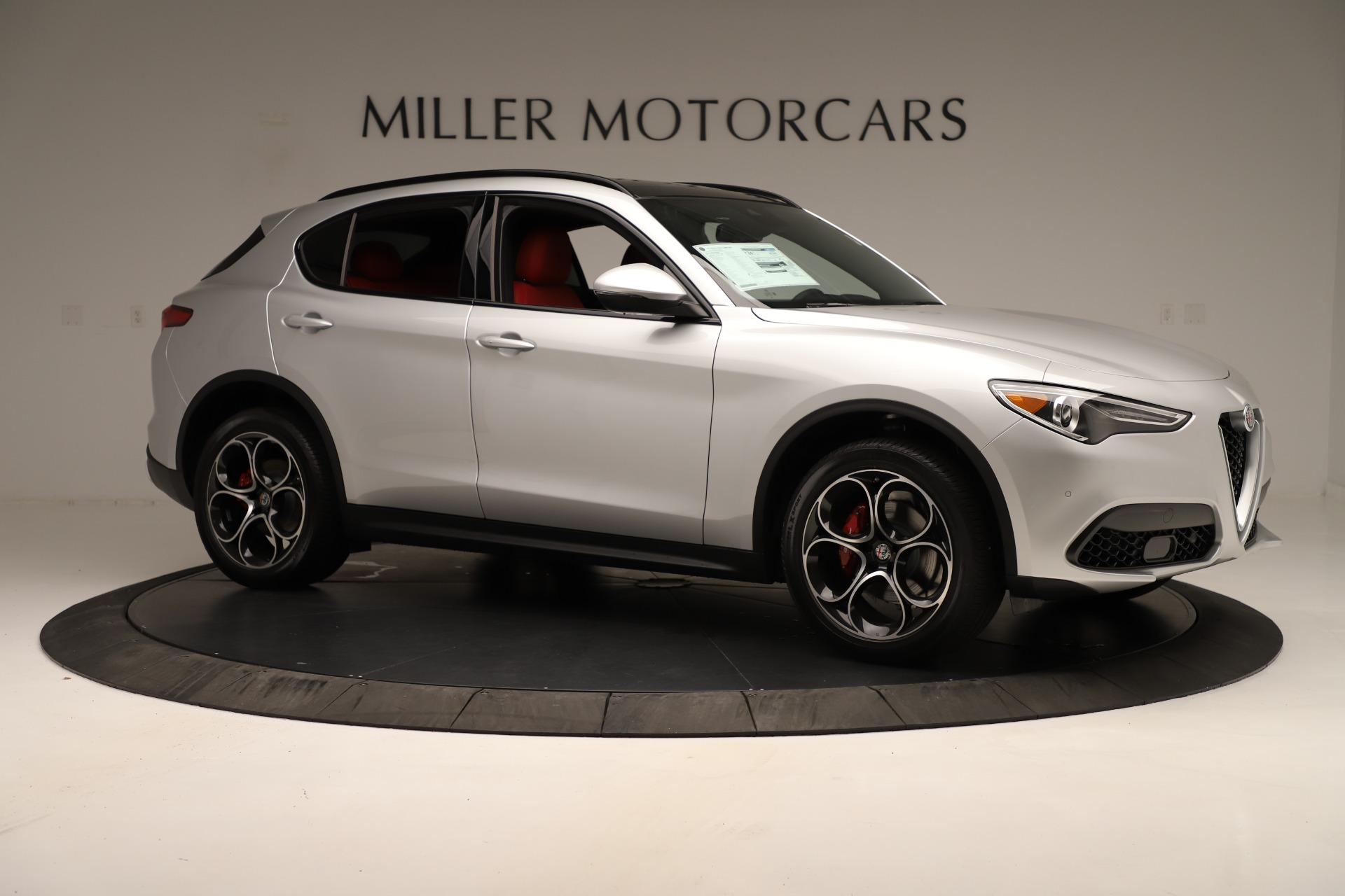New 2019 Alfa Romeo Stelvio Ti Sport Q4 For Sale In Westport, CT 3323_p10