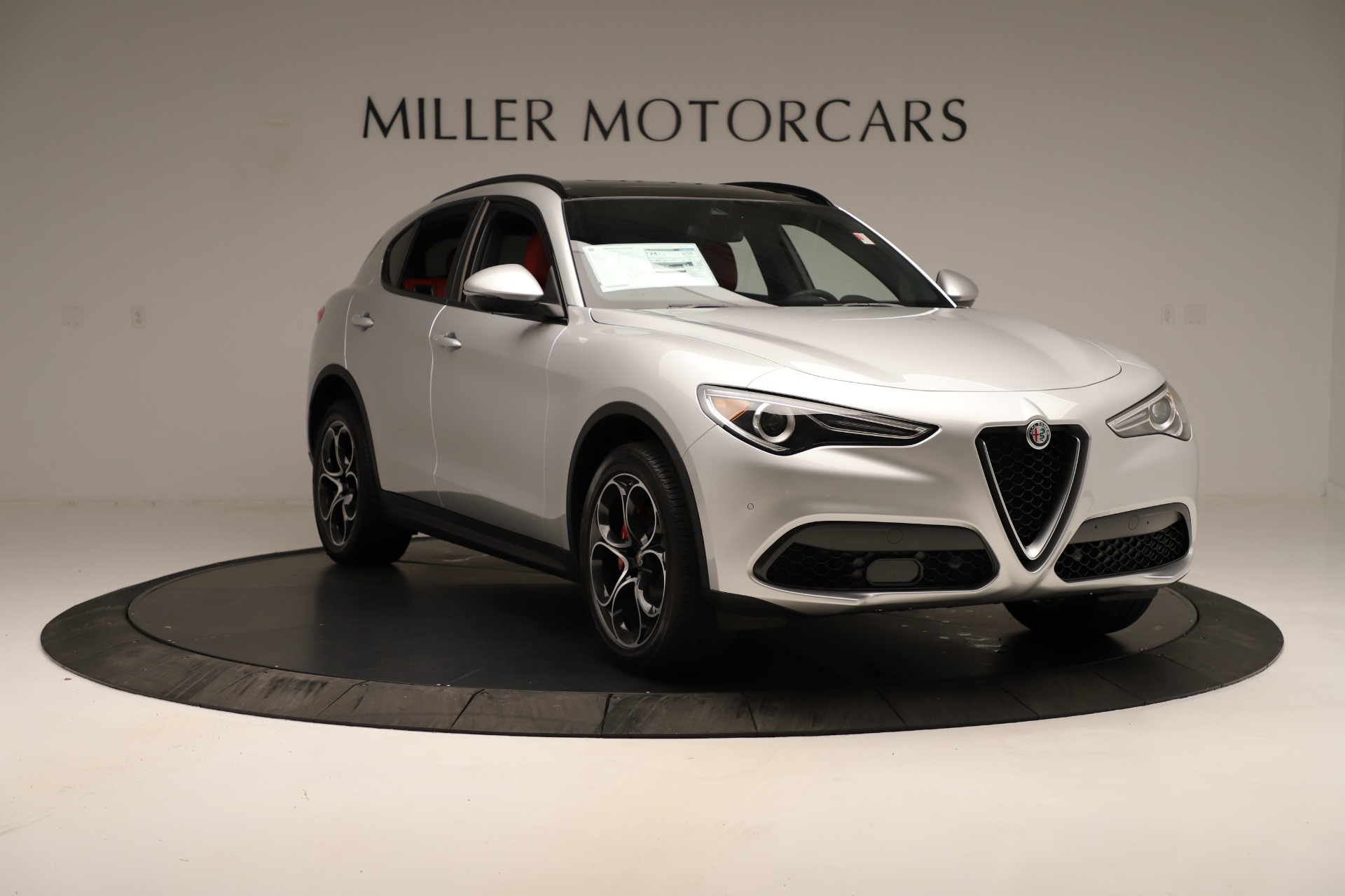 New 2019 Alfa Romeo Stelvio Ti Sport Q4 For Sale In Westport, CT 3323_p11
