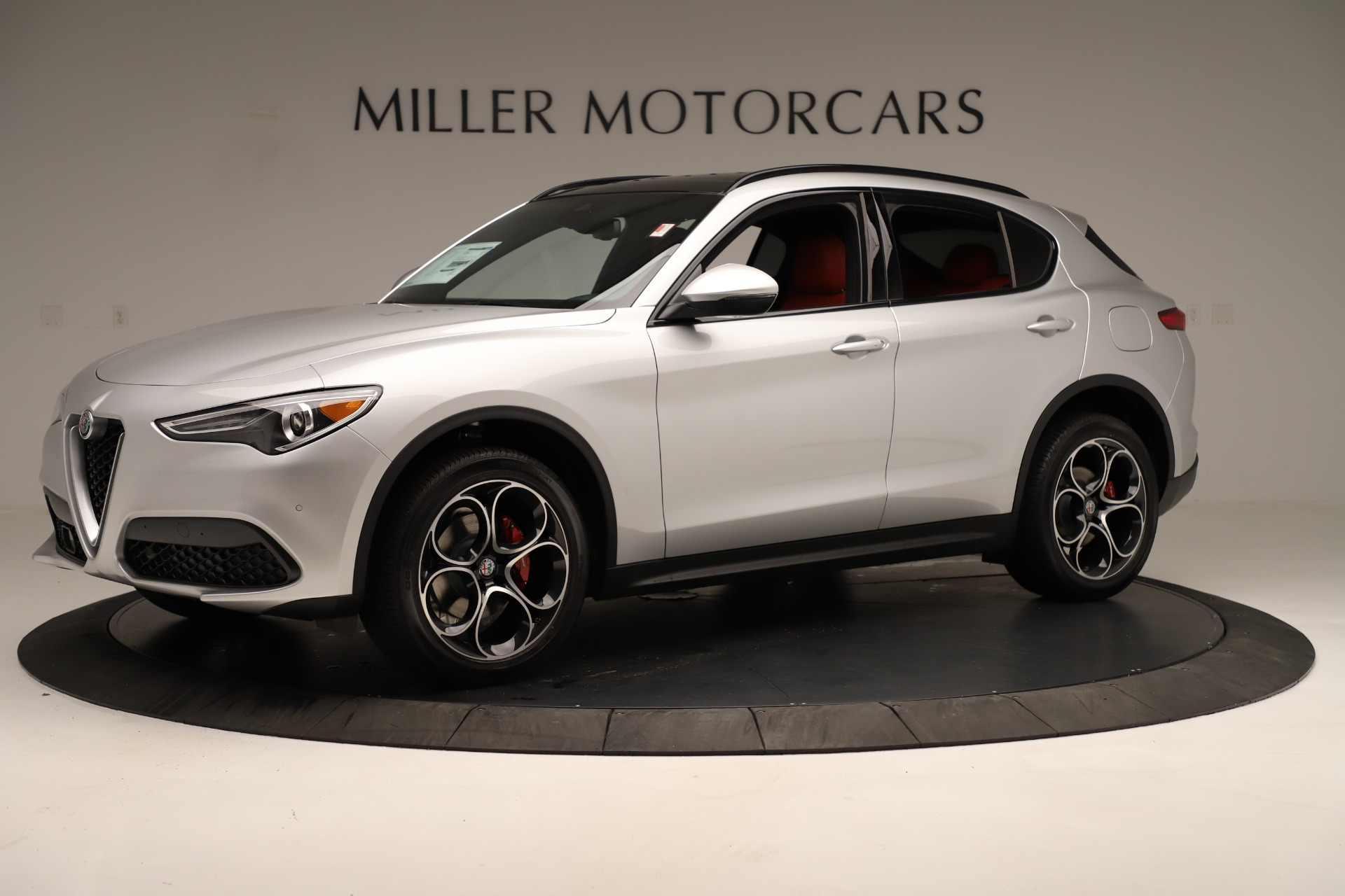 New 2019 Alfa Romeo Stelvio Ti Sport Q4 For Sale In Westport, CT 3323_p2