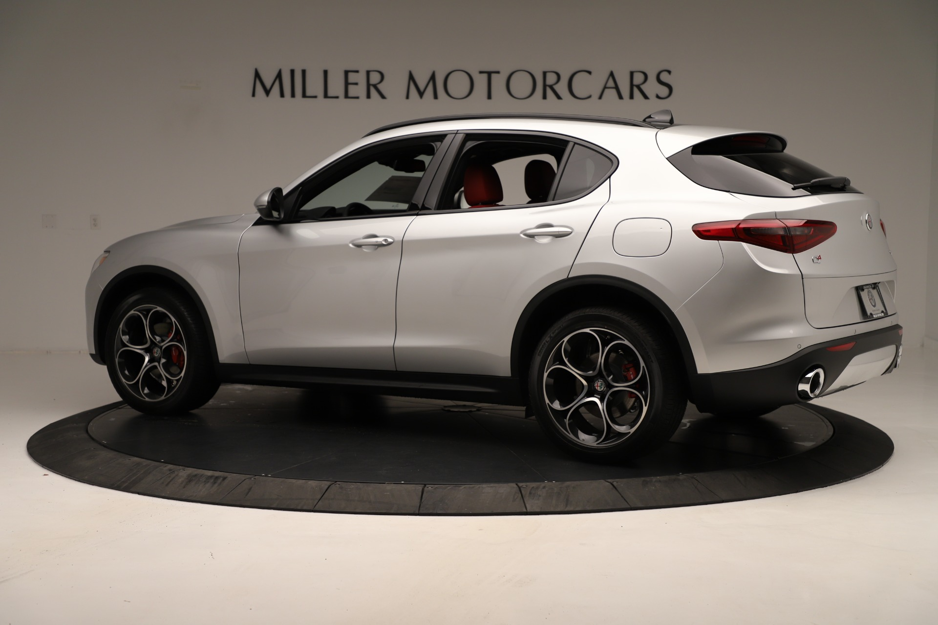 New 2019 Alfa Romeo Stelvio Ti Sport Q4 For Sale In Westport, CT 3323_p4