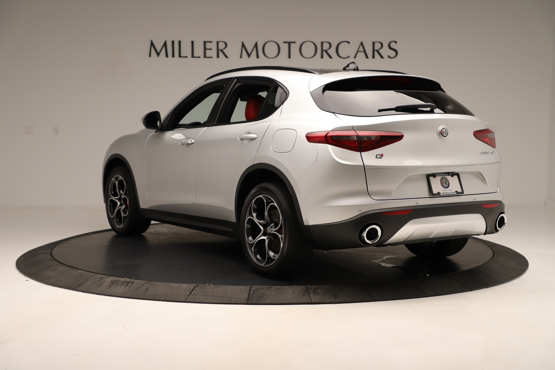 New 2019 Alfa Romeo Stelvio Ti Sport Q4 For Sale In Westport, CT 3323_p5