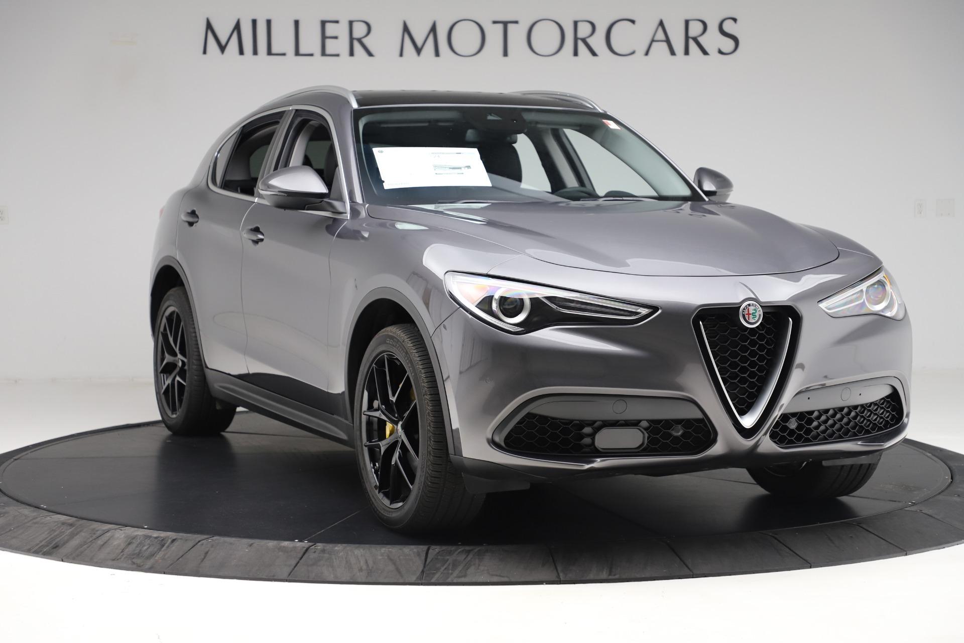 New 2019 Alfa Romeo Stelvio Ti Q4 For Sale In Westport, CT 3326_p11