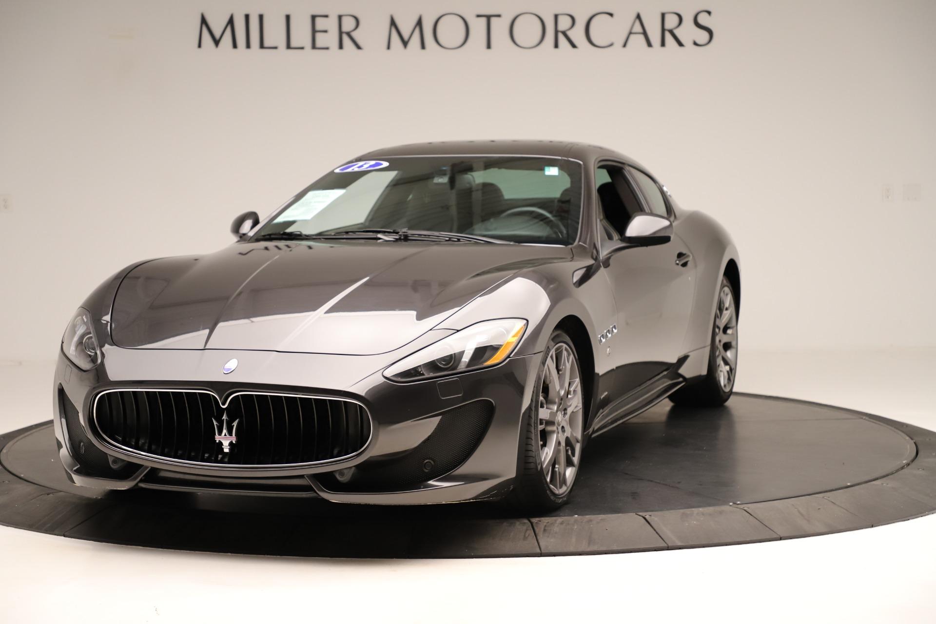 Used 2013 Maserati GranTurismo Sport For Sale In Westport, CT 3327_main