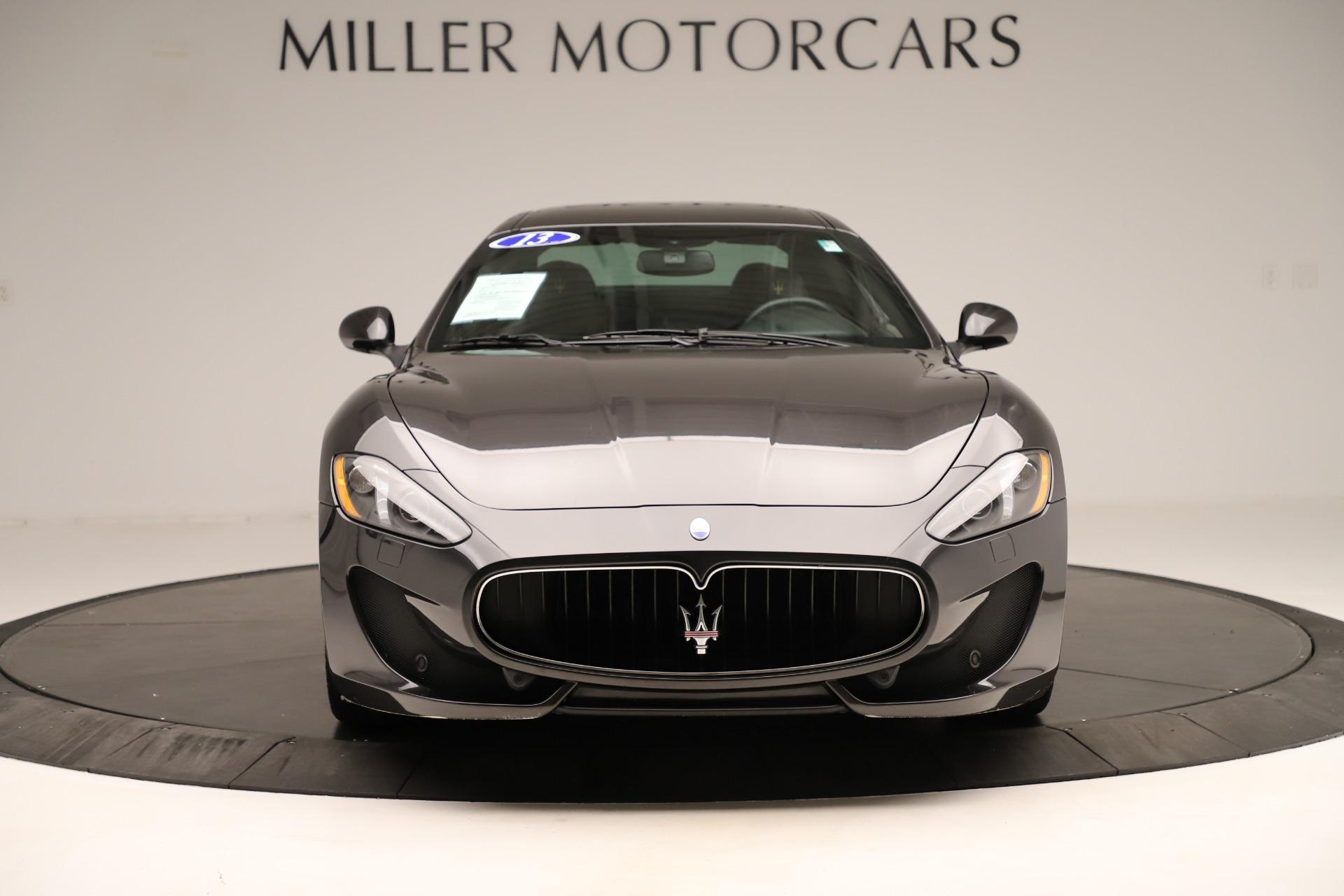 Used 2013 Maserati GranTurismo Sport For Sale In Westport, CT 3327_p12