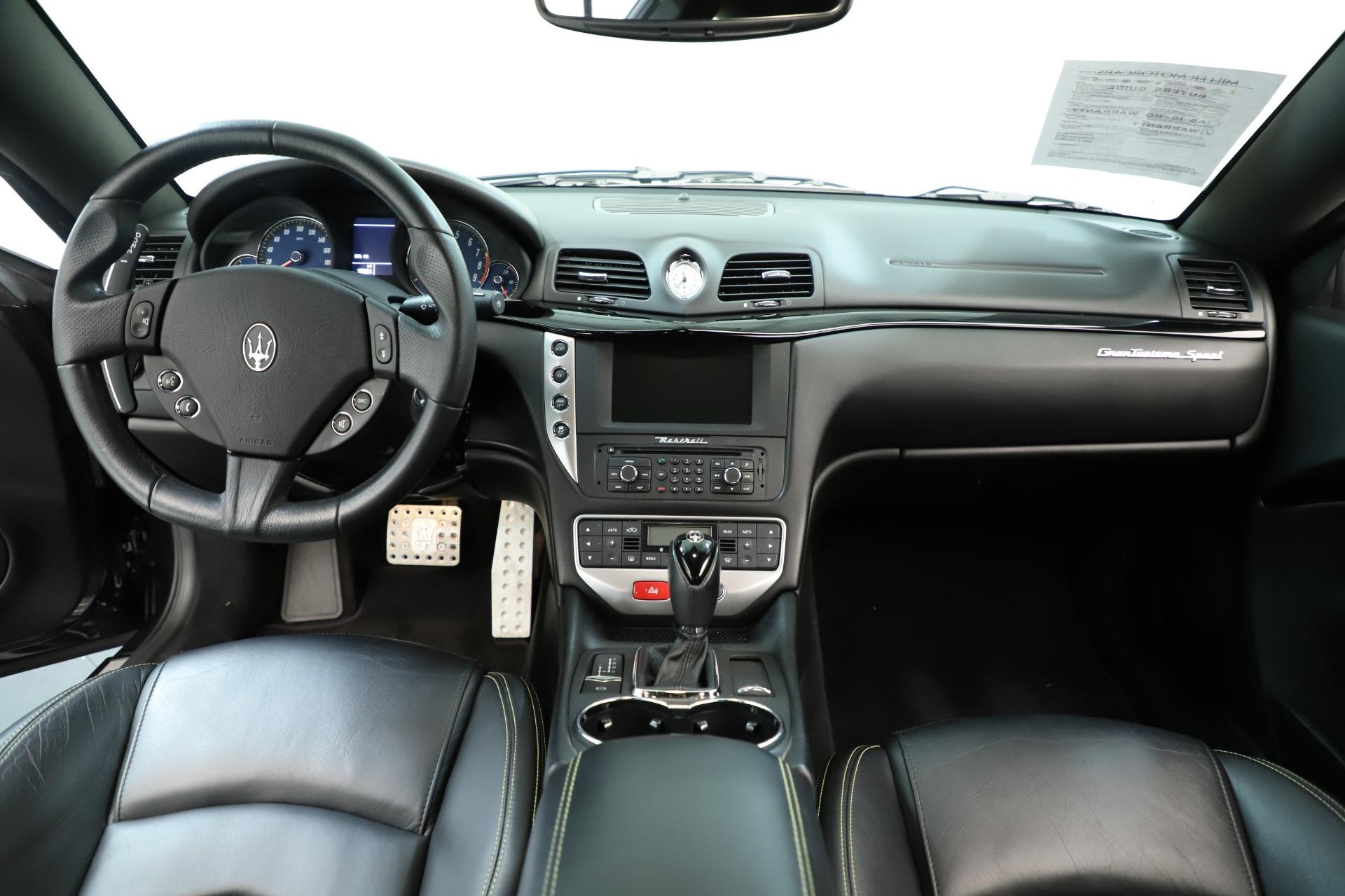 Used 2013 Maserati GranTurismo Sport For Sale In Westport, CT 3327_p16