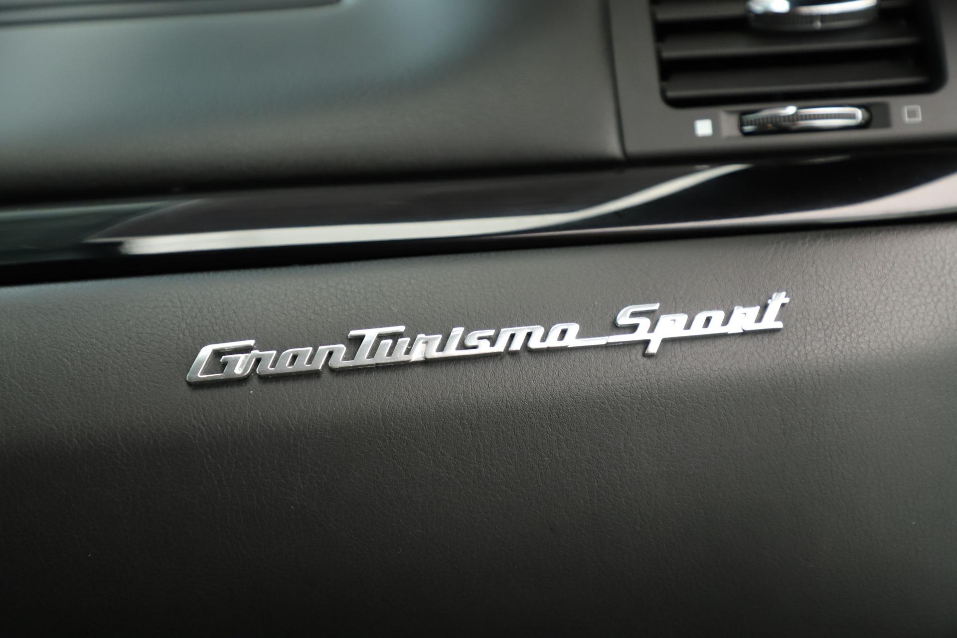 Used 2013 Maserati GranTurismo Sport For Sale In Westport, CT 3327_p23