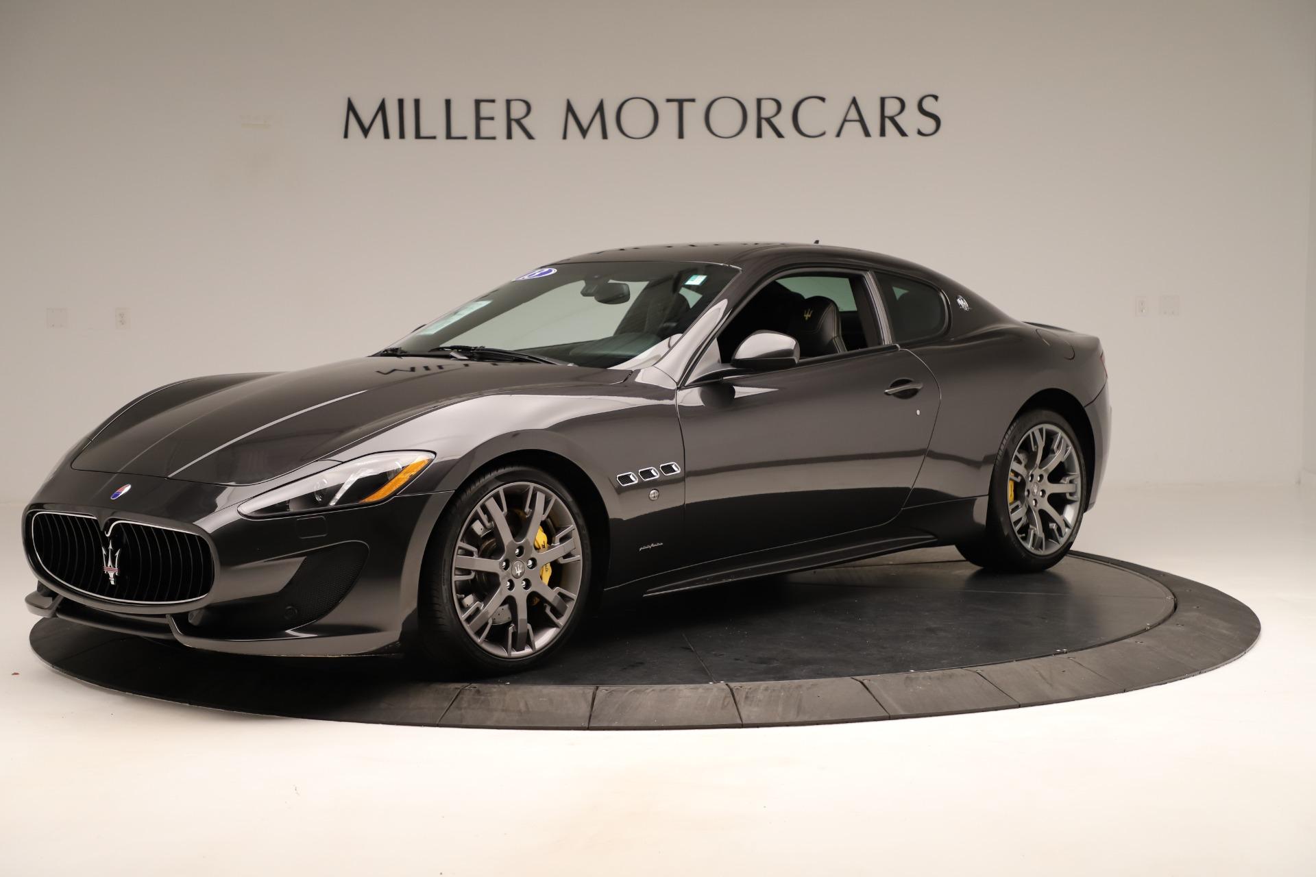 Used 2013 Maserati GranTurismo Sport For Sale In Westport, CT 3327_p2