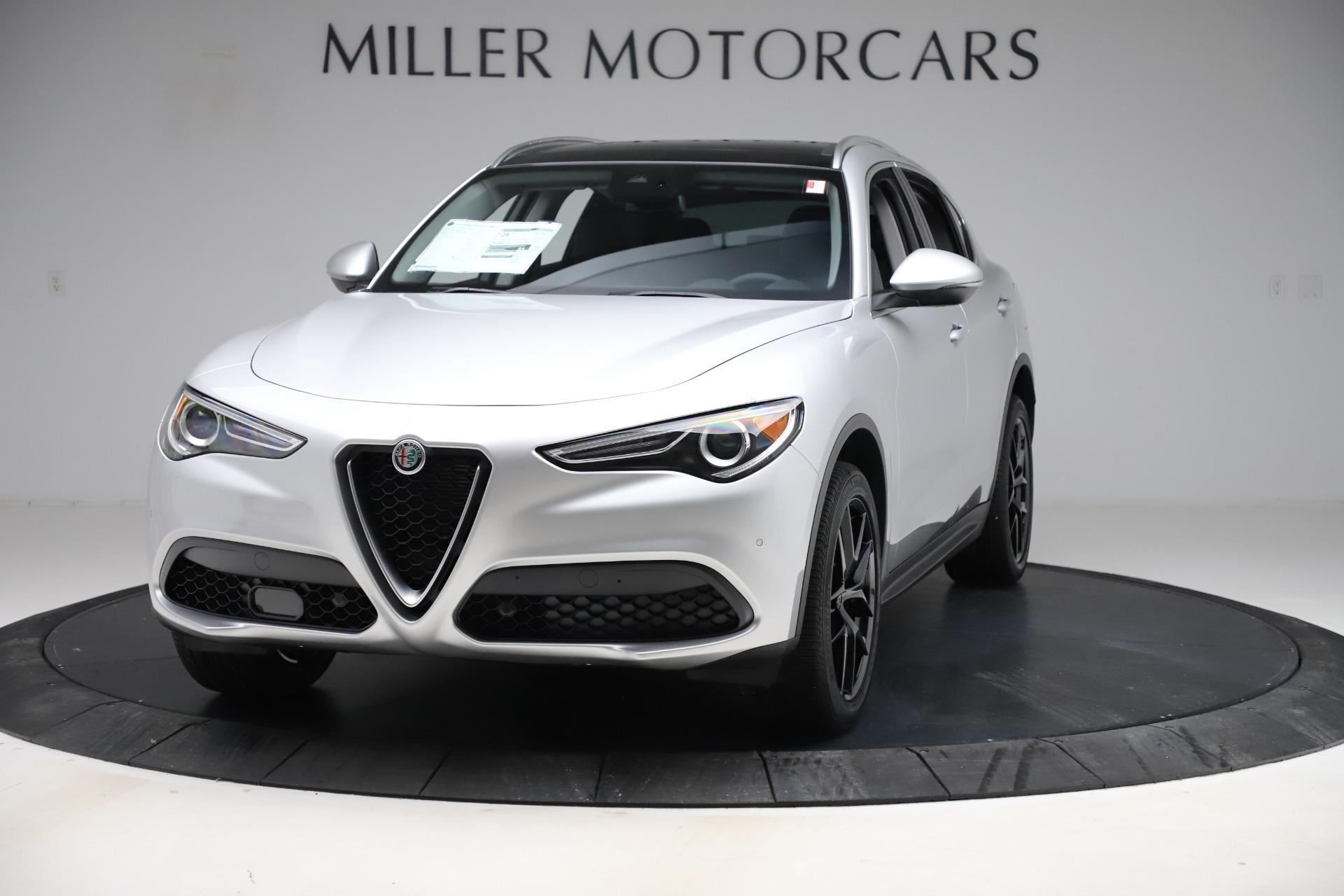 New 2019 Alfa Romeo Stelvio Ti Q4 For Sale In Westport, CT 3328_main