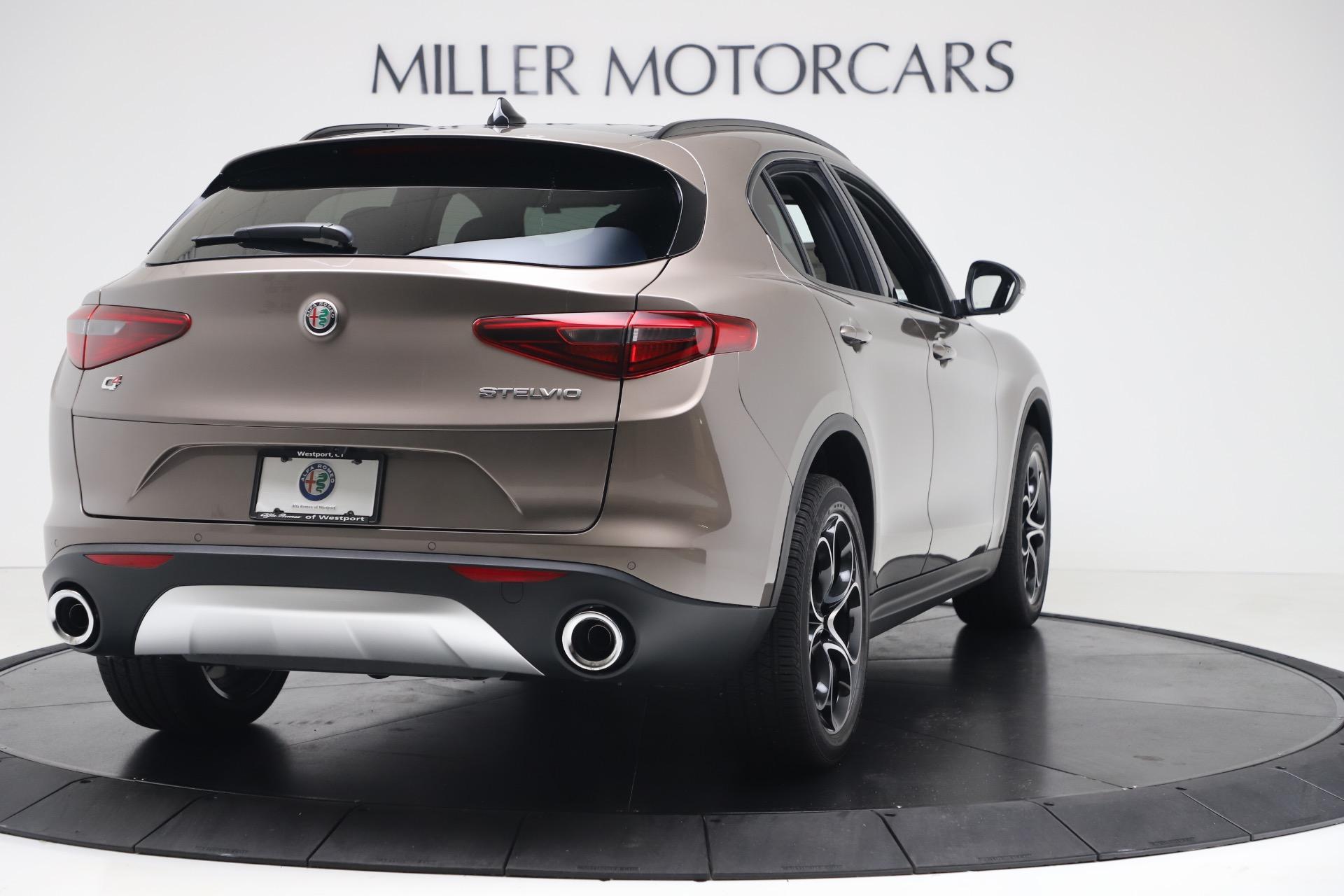 New 2019 Alfa Romeo Stelvio Ti Sport Q4 For Sale In Westport, CT 3337_p7