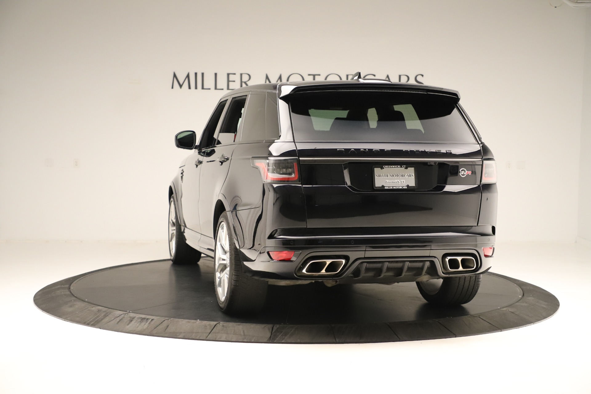 Used 2019 Land Rover Range Rover Sport SVR For Sale In Westport, CT 3353_p5
