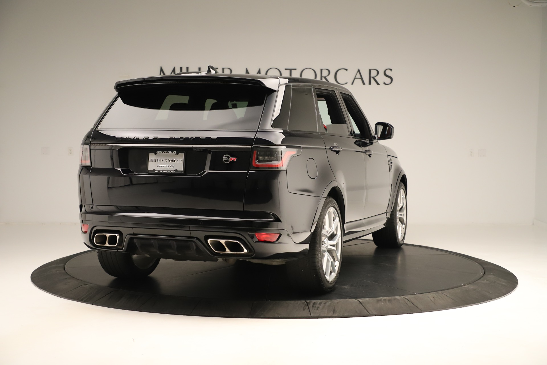 Used 2019 Land Rover Range Rover Sport SVR For Sale In Westport, CT 3353_p7