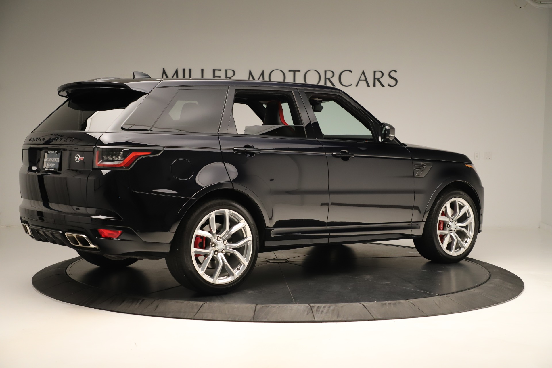 Used 2019 Land Rover Range Rover Sport SVR For Sale In Westport, CT 3353_p8