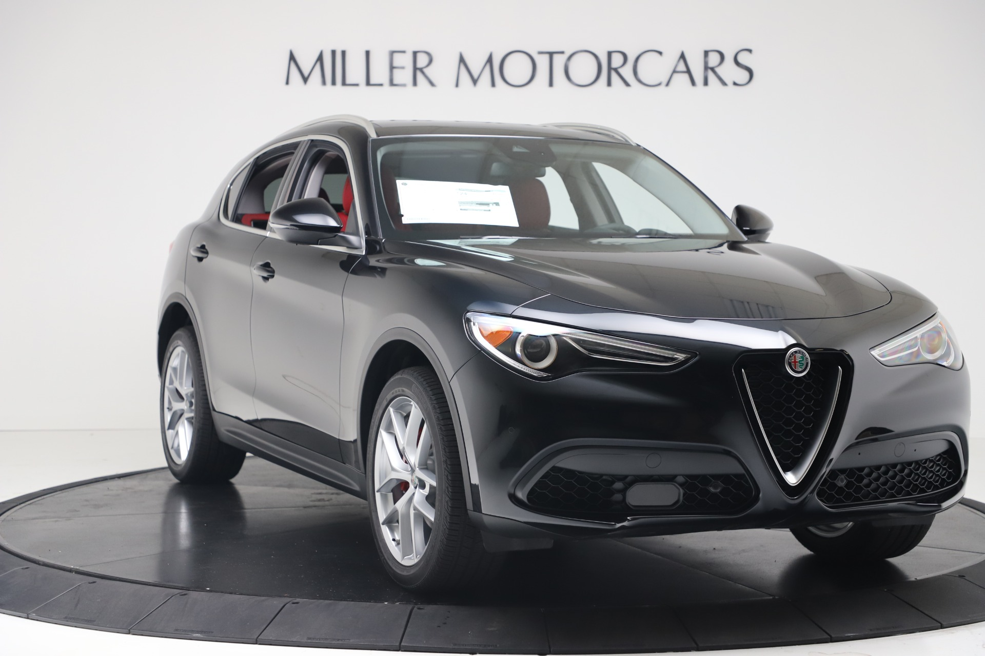 New 2019 Alfa Romeo Stelvio Ti Q4 For Sale In Westport, CT 3363_p11