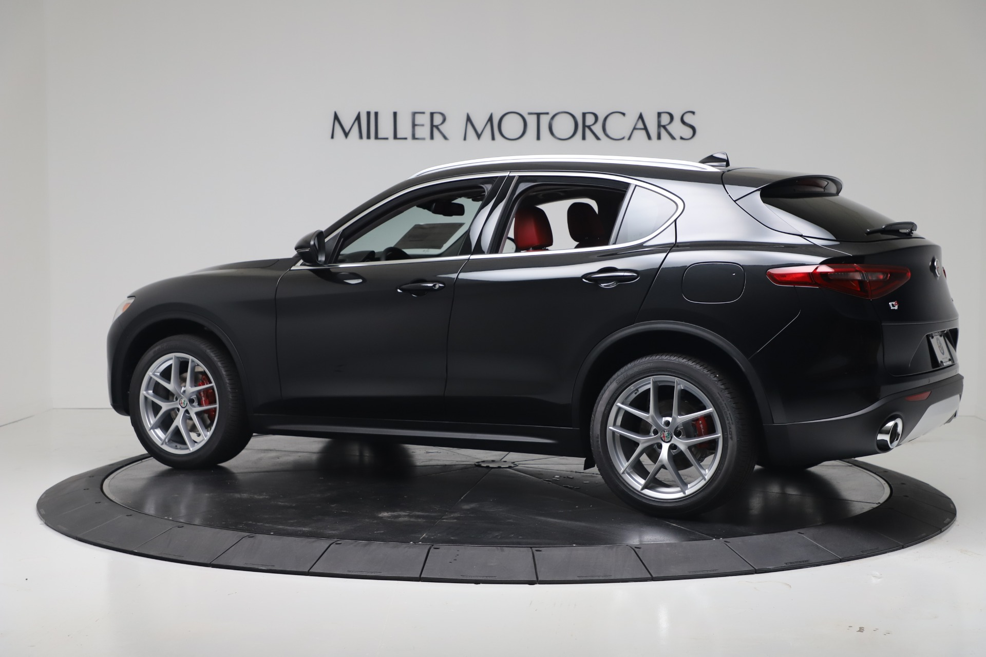New 2019 Alfa Romeo Stelvio Ti Q4 For Sale In Westport, CT 3363_p4