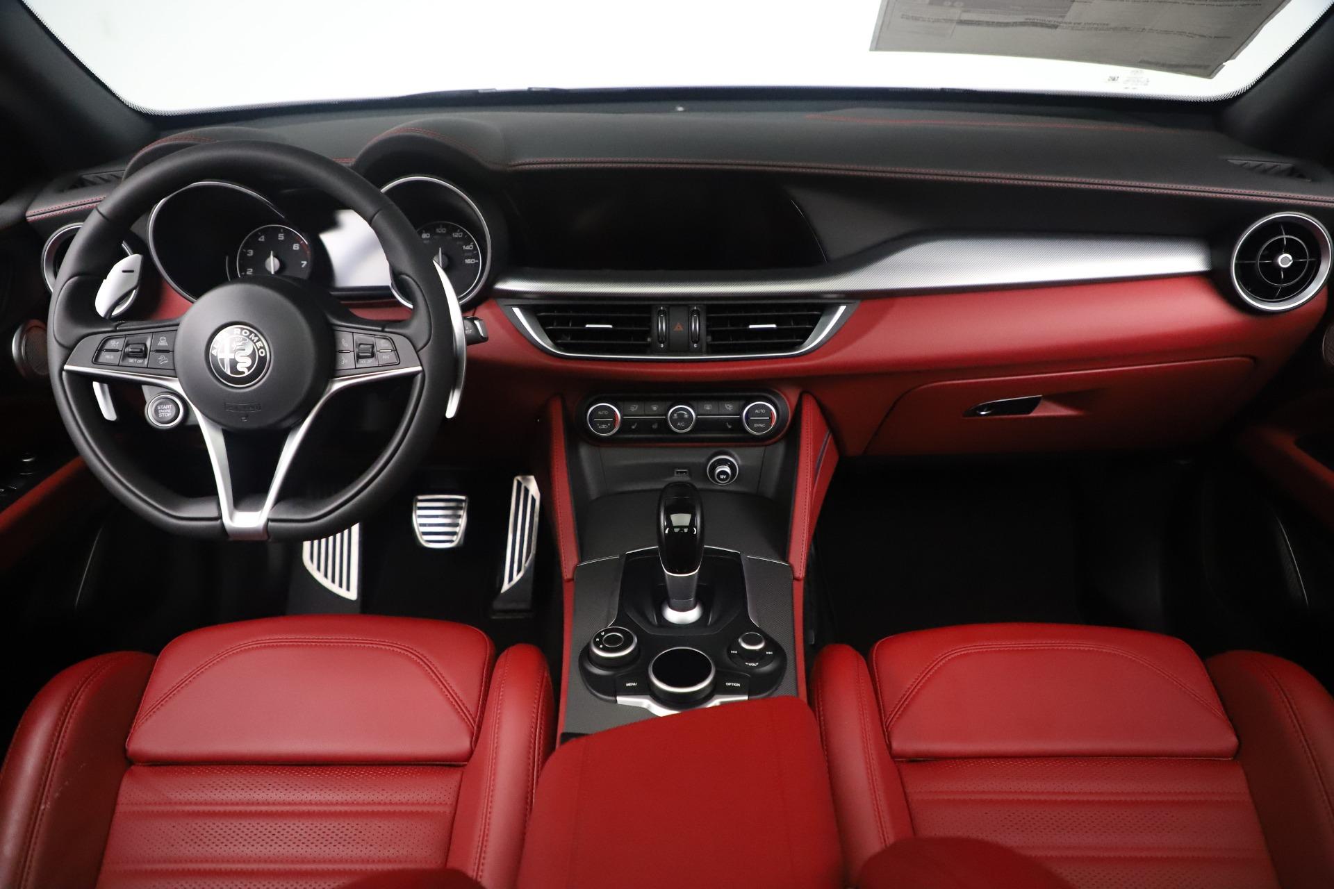 New 2019 Alfa Romeo Stelvio Ti Sport Q4 For Sale In Westport, CT 3364_p16