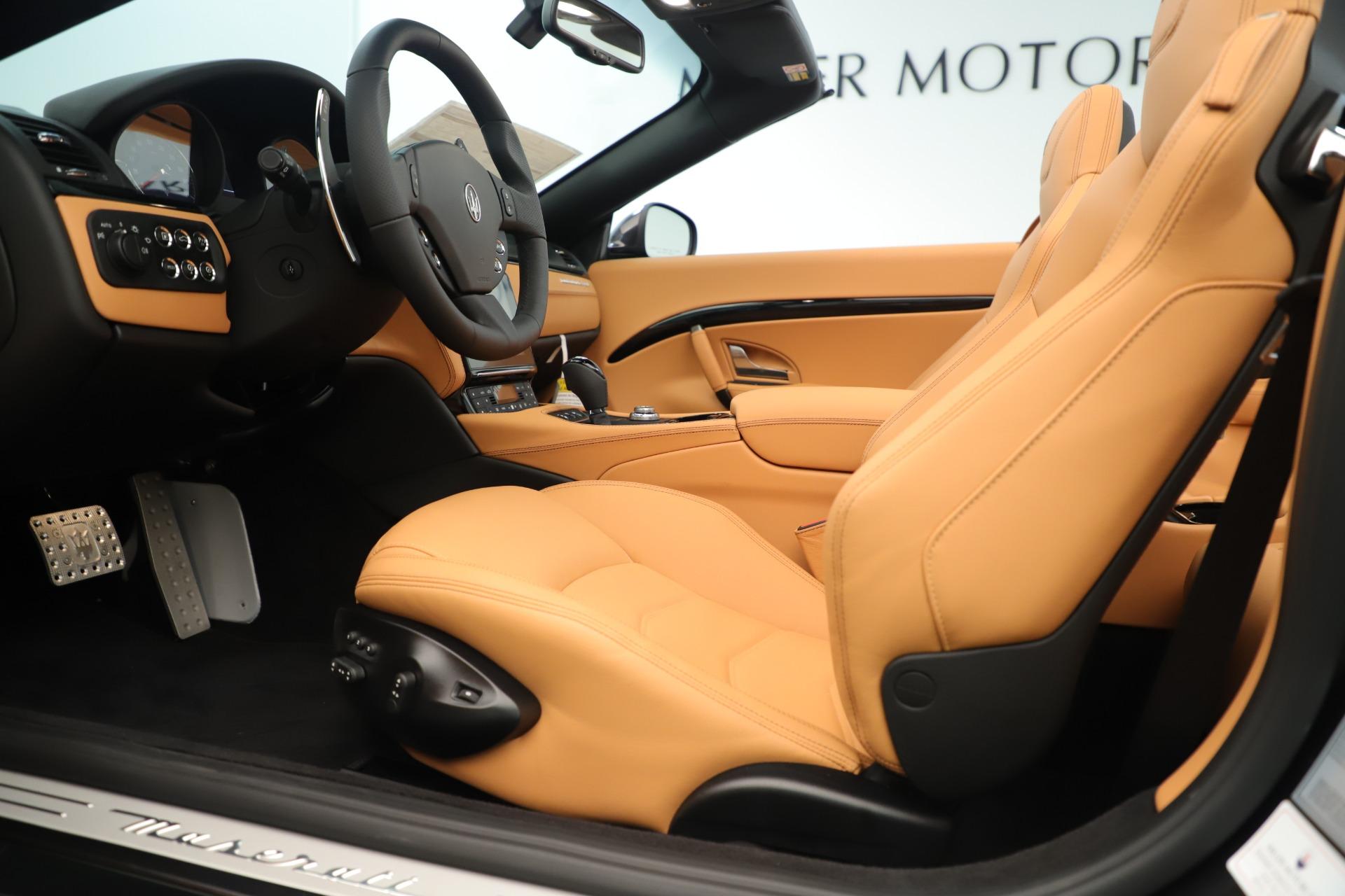 New 2019 Maserati GranTurismo Sport Convertible For Sale In Westport, CT 3367_p20