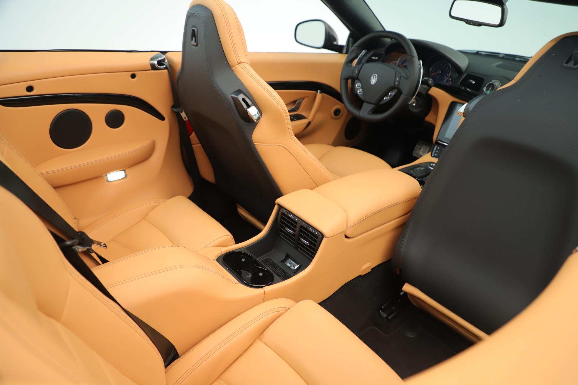 New 2019 Maserati GranTurismo Sport Convertible For Sale In Westport, CT 3367_p30