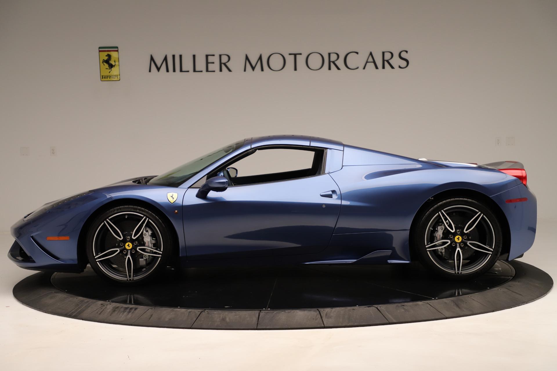Used 2015 Ferrari 458 Speciale Aperta  For Sale In Westport, CT 3372_p15