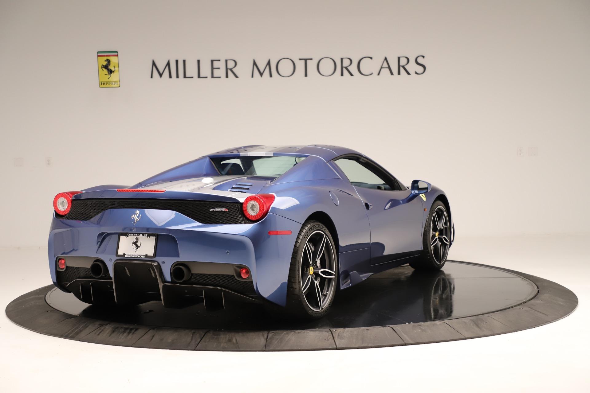 Used 2015 Ferrari 458 Speciale Aperta  For Sale In Westport, CT 3372_p17