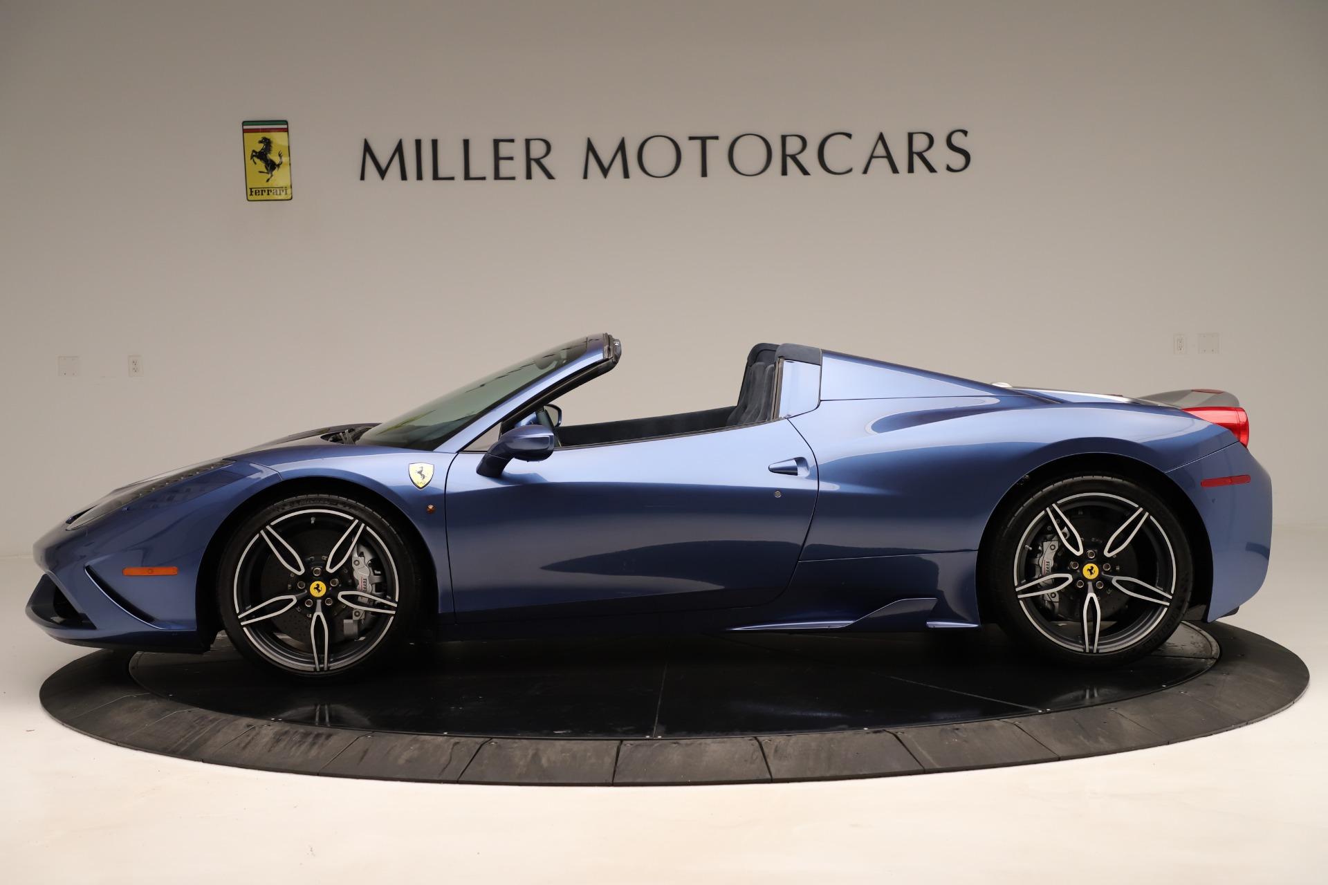 Used 2015 Ferrari 458 Speciale Aperta  For Sale In Westport, CT 3372_p4