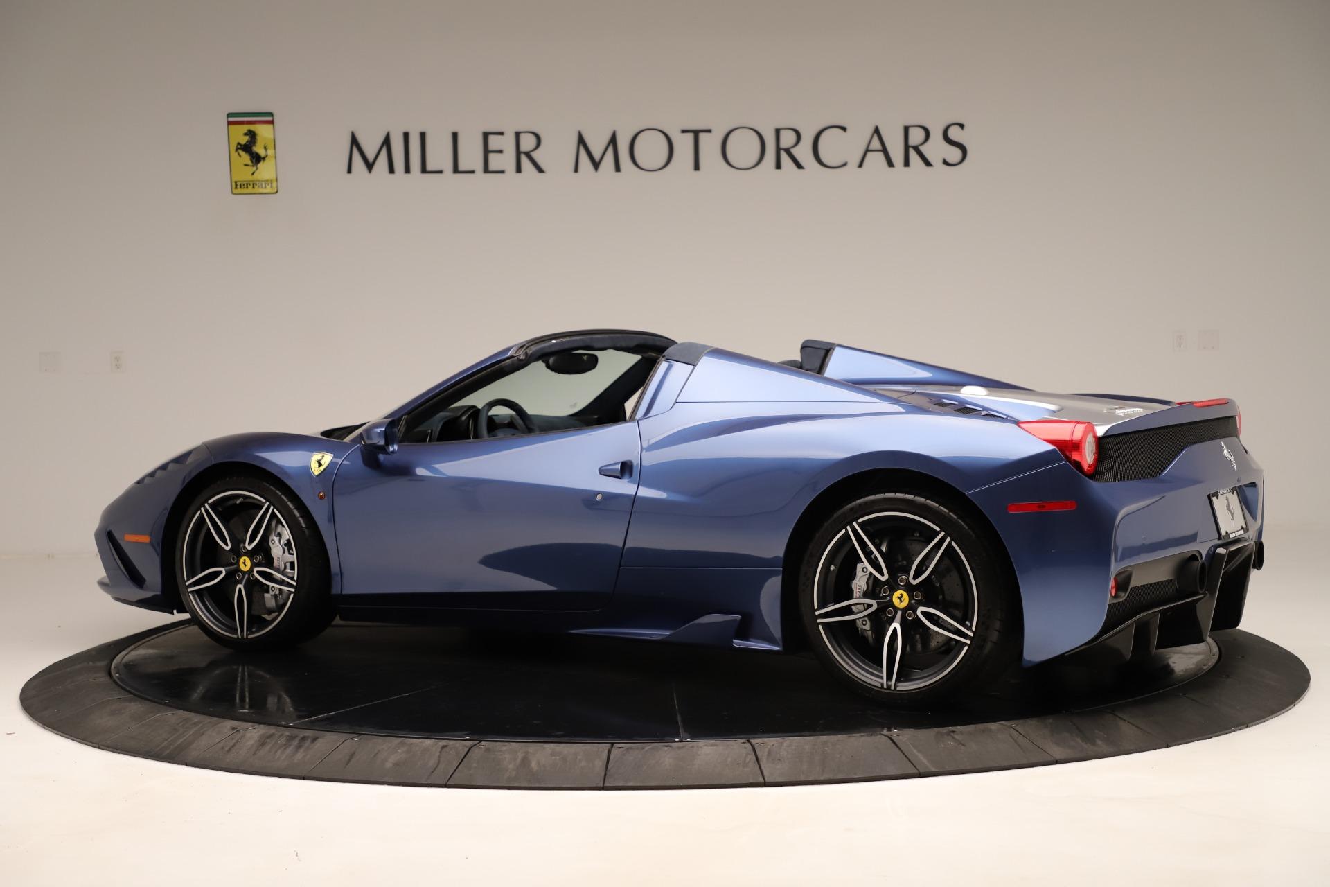 Used 2015 Ferrari 458 Speciale Aperta  For Sale In Westport, CT 3372_p5