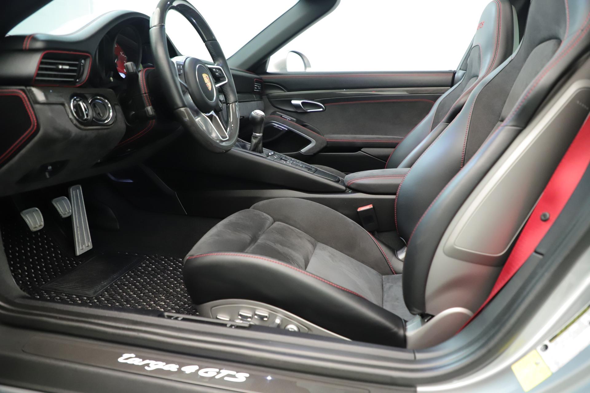 Used 2017 Porsche 911 Targa 4 GTS For Sale In Westport, CT 3374_p19